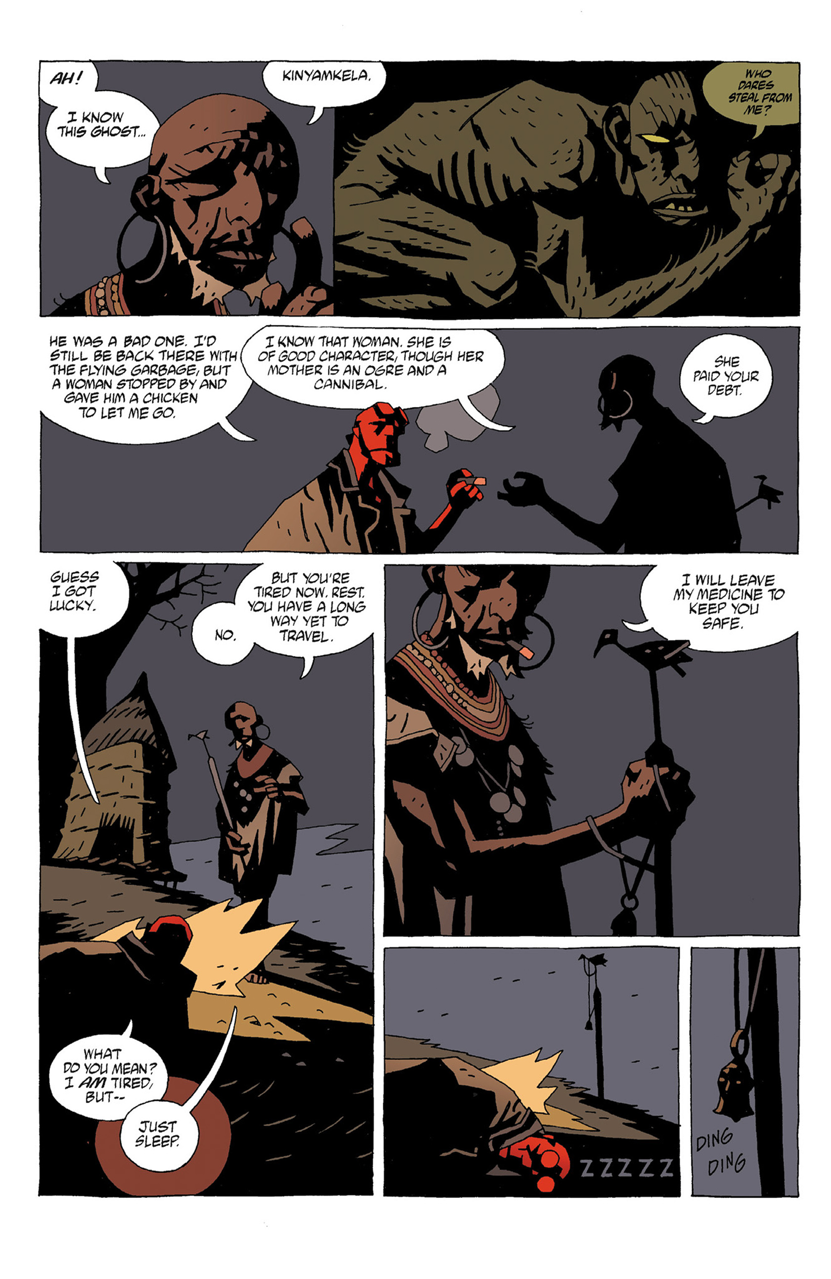 Read online Hellboy: Strange Places comic -  Issue # TPB - 14