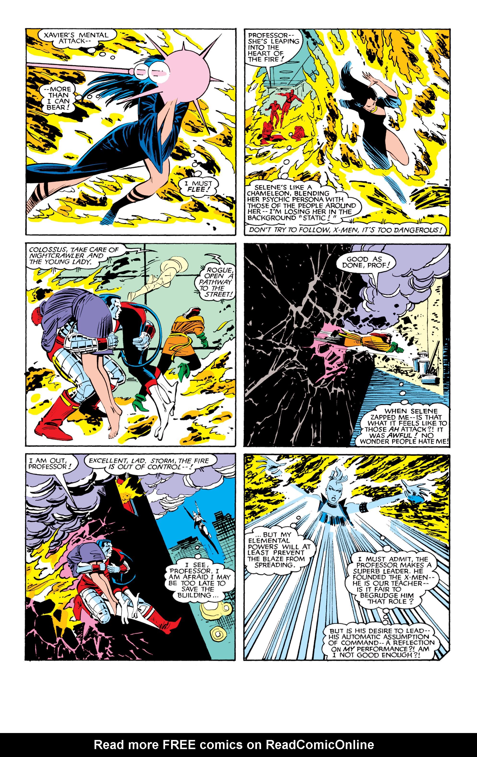 Read online Uncanny X-Men (1963) comic -  Issue #184 - 21