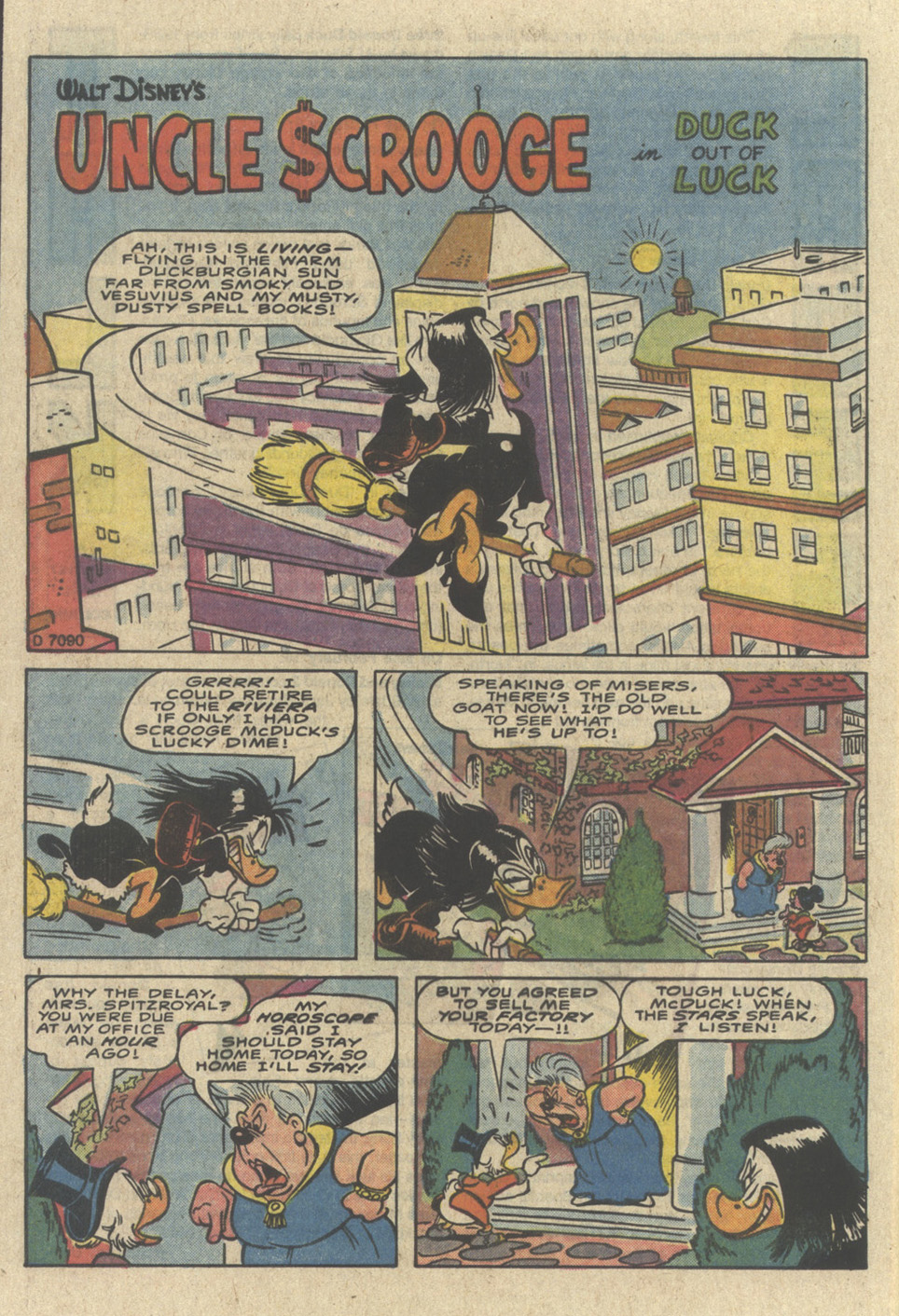 Read online Uncle Scrooge (1953) comic -  Issue #226 - 28