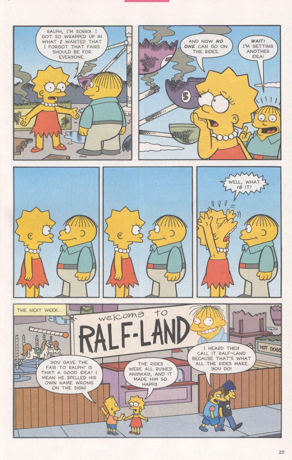 Read online Simpsons Comics comic -  Issue #93 - 26