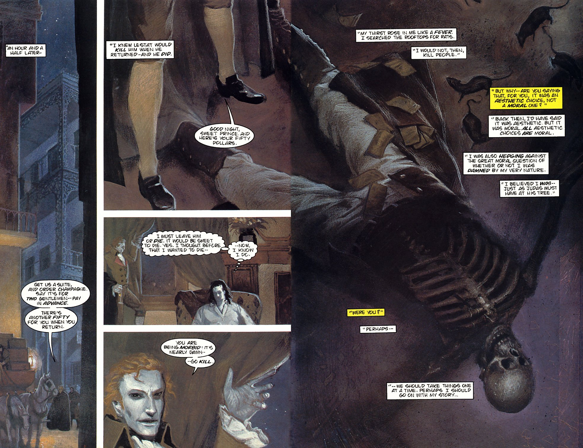 Read online Anne Rice's Interview with the Vampire comic -  Issue #3 - 10