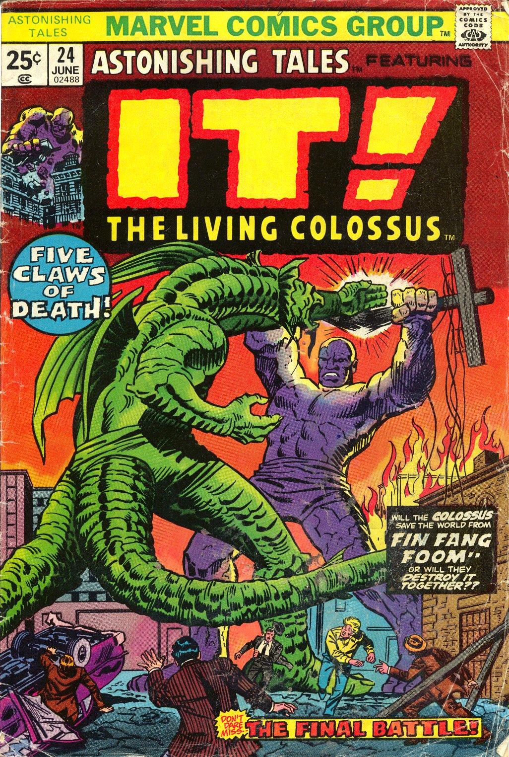Read online Astonishing Tales (1970) comic -  Issue #24 - 1