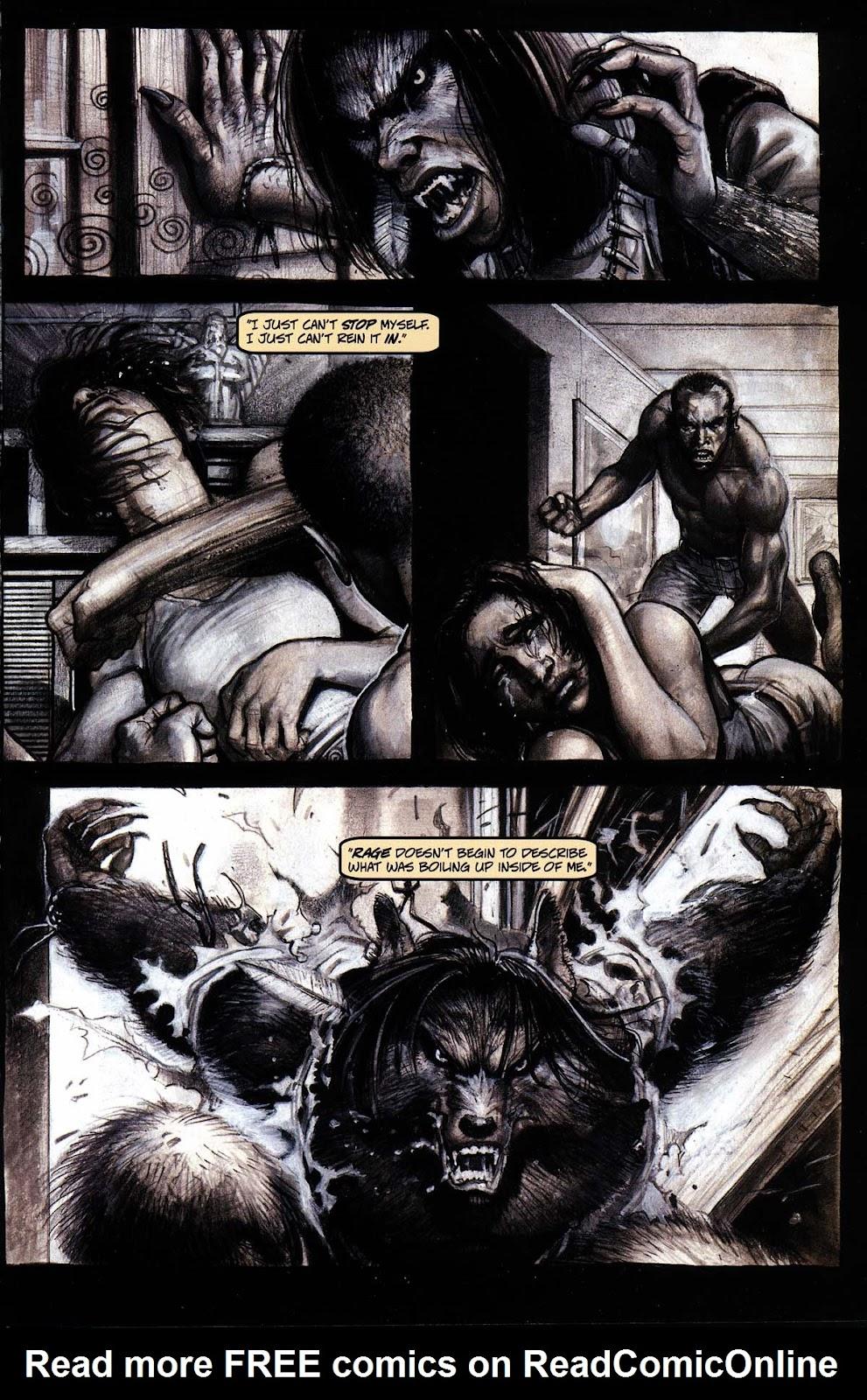 Read online Werewolf the Apocalypse comic -  Issue # Black Furies - 5