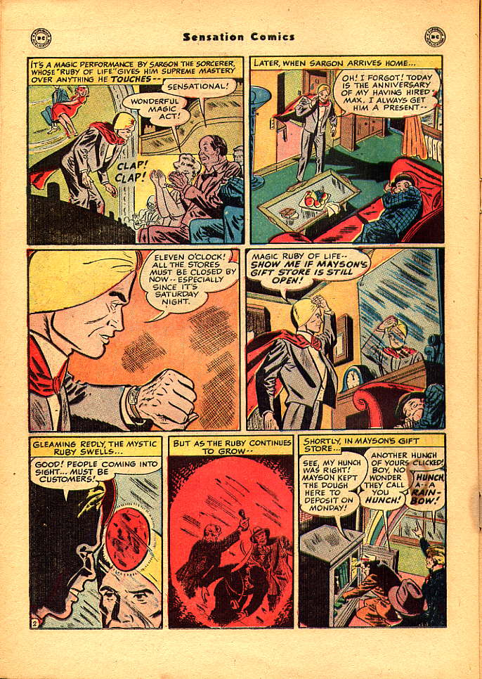 Read online Sensation (Mystery) Comics comic -  Issue #83 - 18