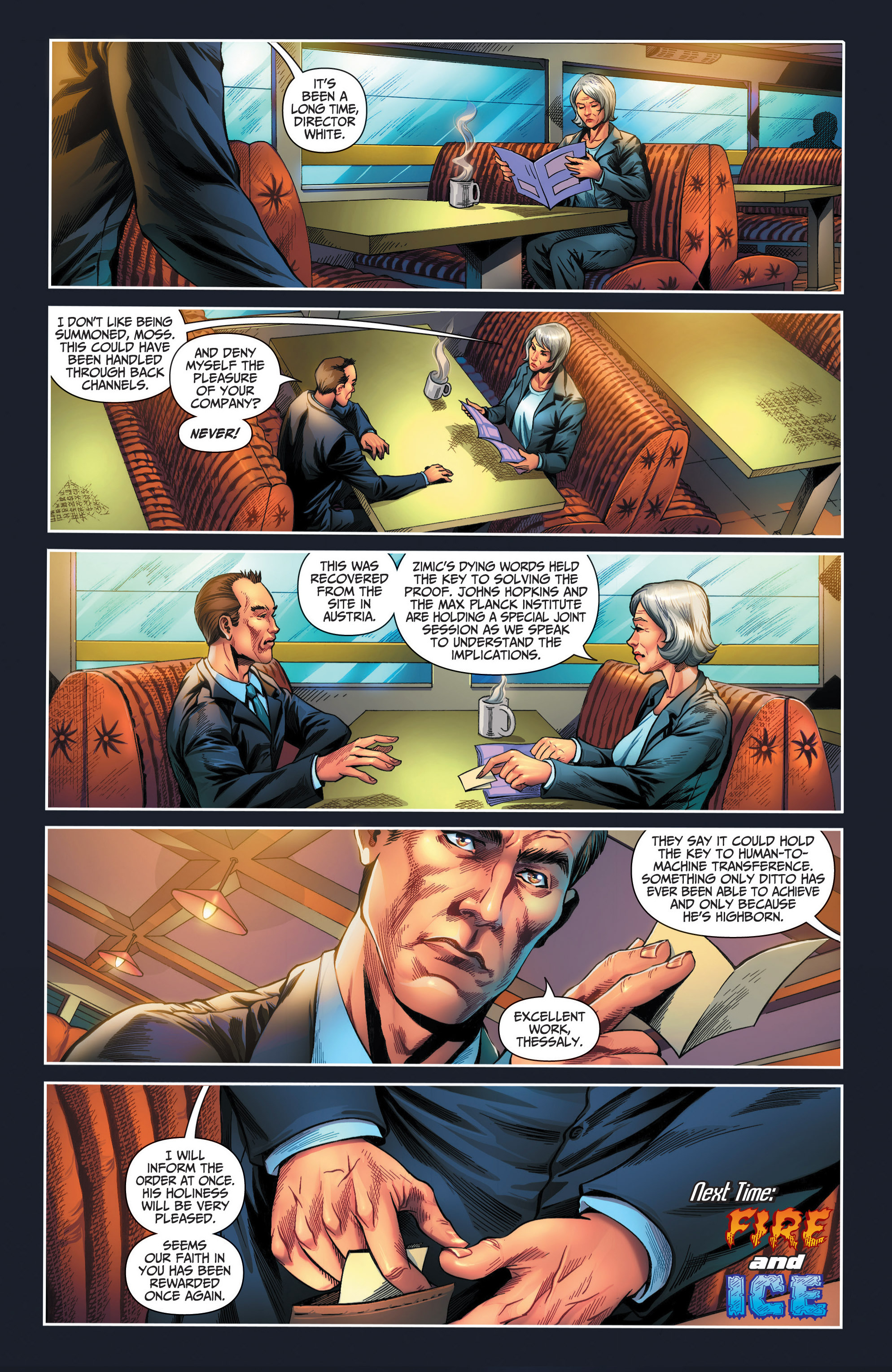 Read online Grimm Fairy Tales presents Red Agent: The Human Order comic -  Issue #6 - 24