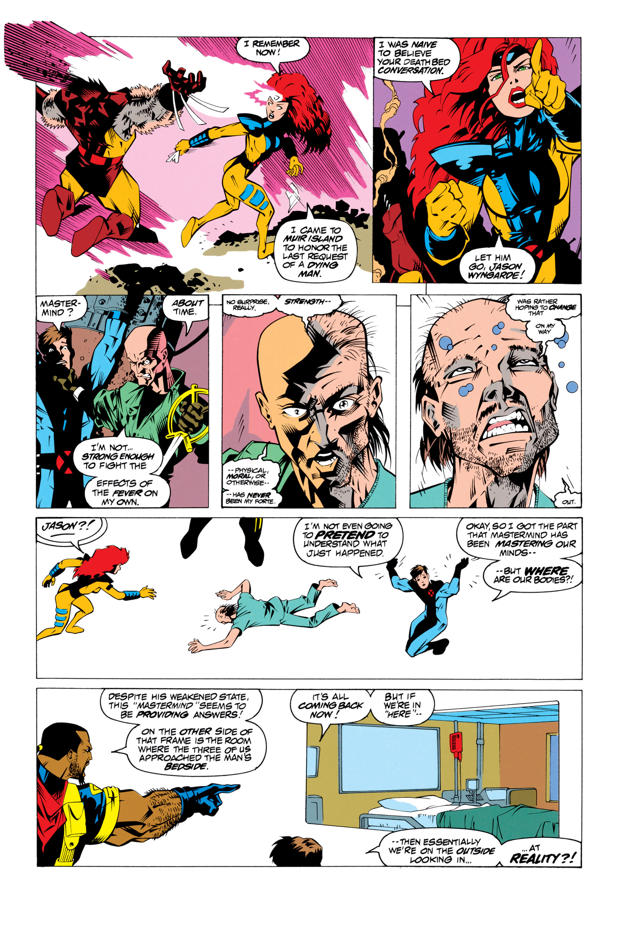 Read online Uncanny X-Men (1963) comic -  Issue # _Annual 17 - 33