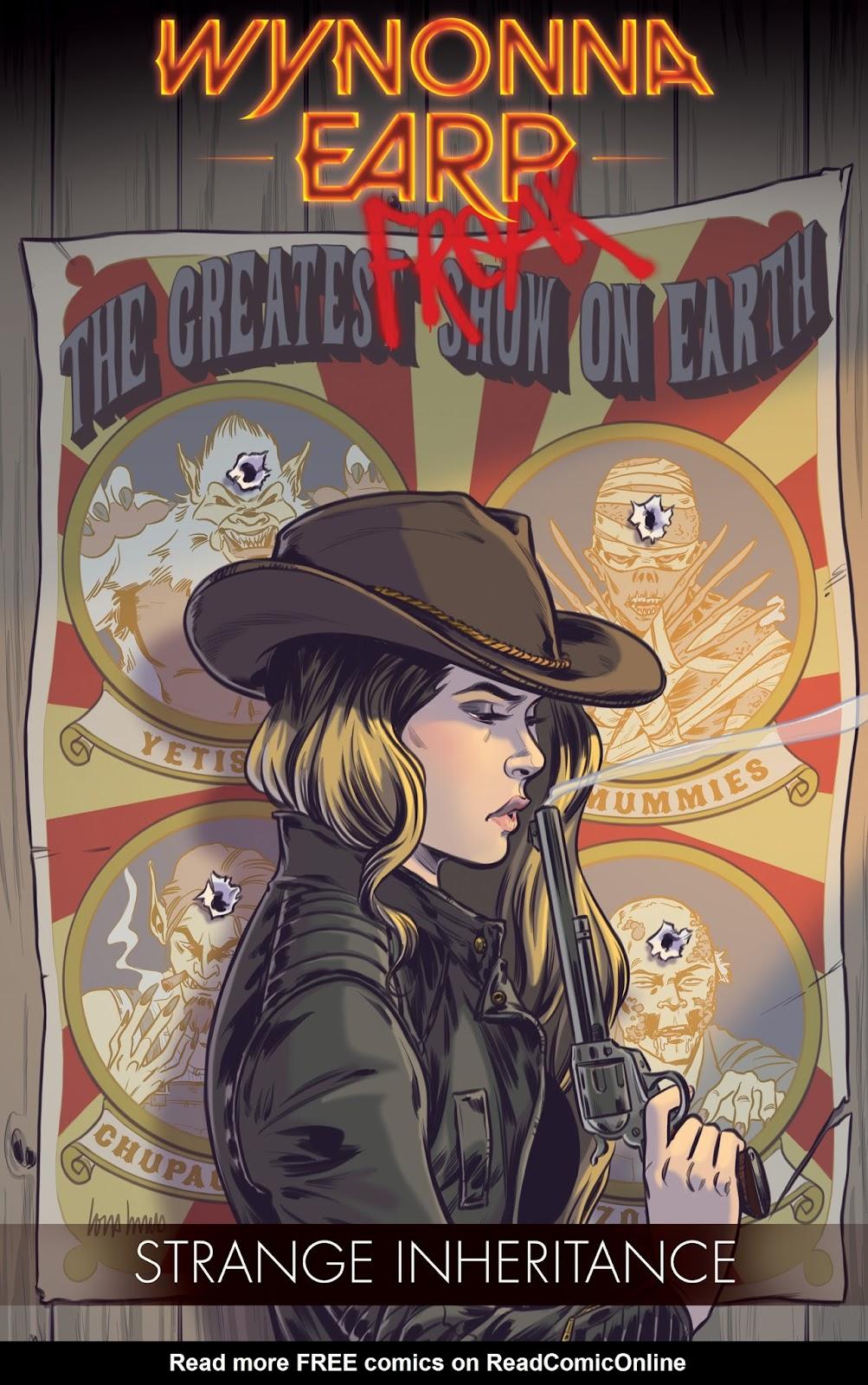 Wynonna Earp: Strange Inheritance TPB Page 1