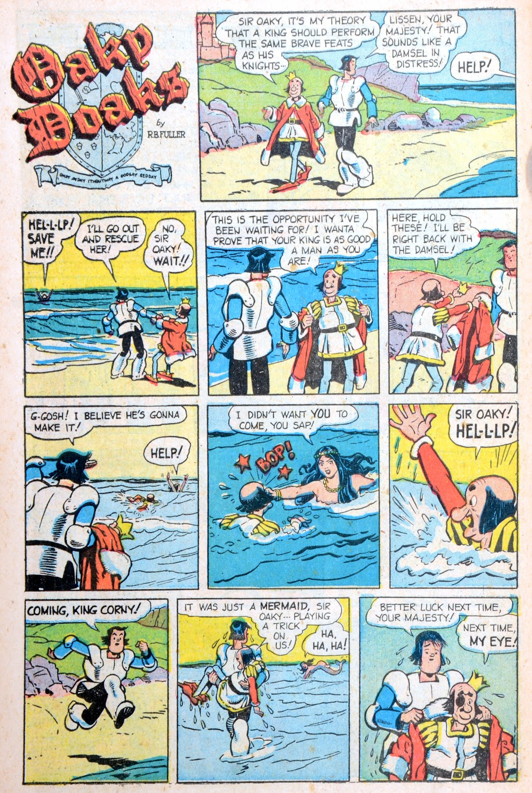 Read online Famous Funnies comic -  Issue #194 - 47