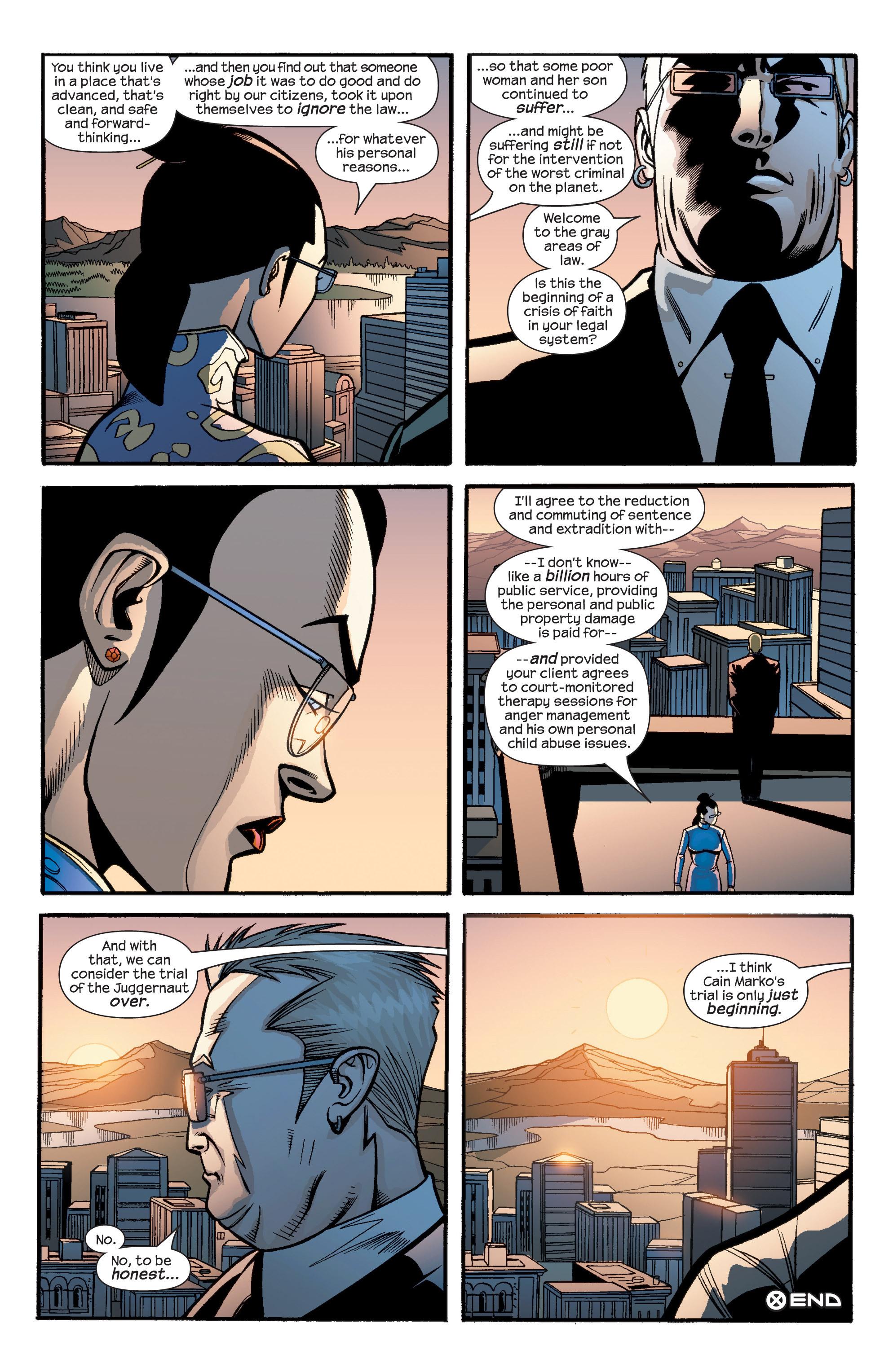 Read online Uncanny X-Men (1963) comic -  Issue #436 - 21