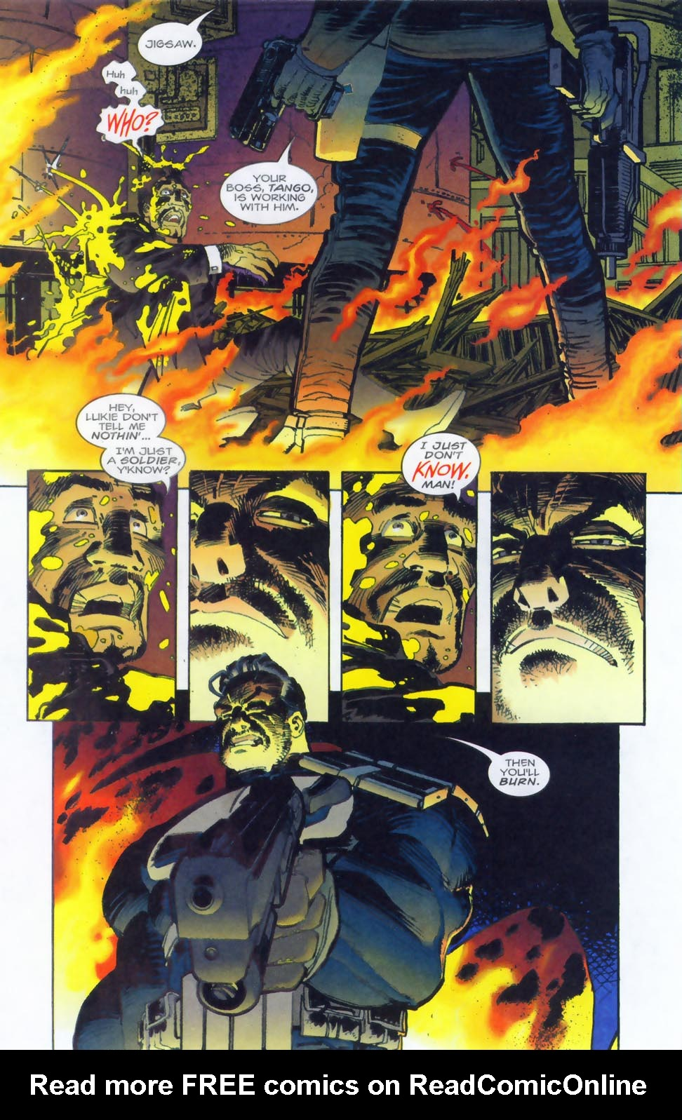 Read online Punisher/Batman: Deadly Knights comic -  Issue # Full - 10