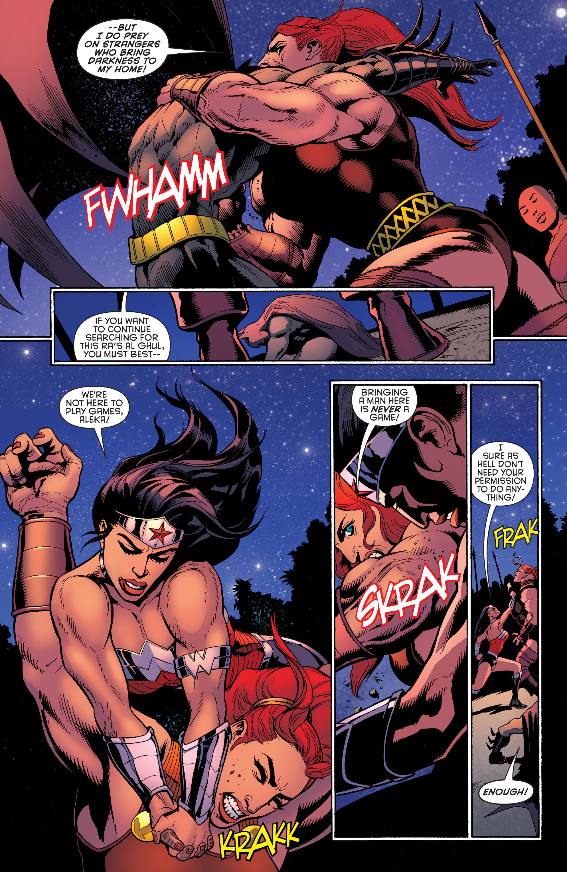 Read online Batman and Robin (2011) comic -  Issue #30 - Batman and Wonder Woman - 5