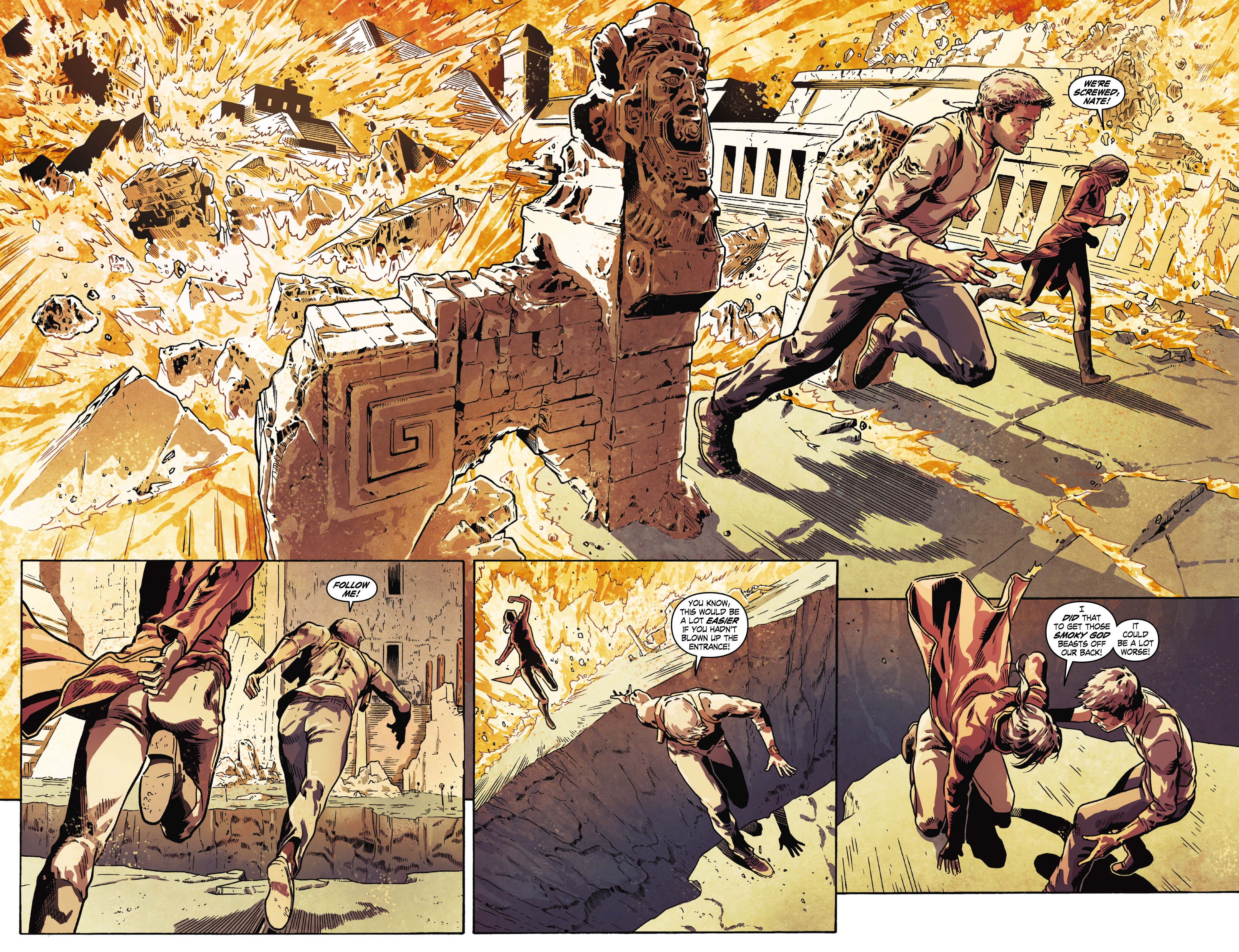 Read online Uncharted comic -  Issue #6 - 4