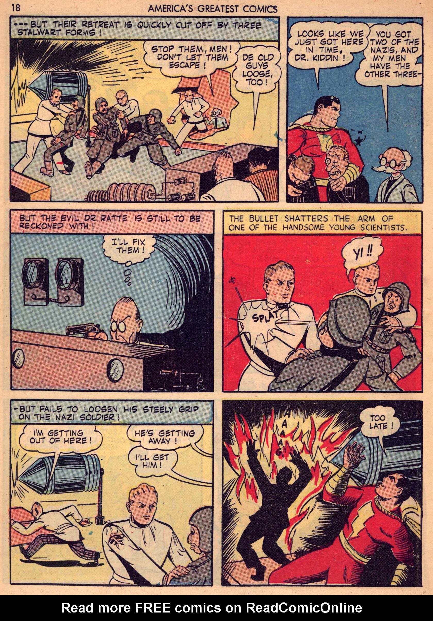 Read online America's Greatest Comics comic -  Issue #7 - 17