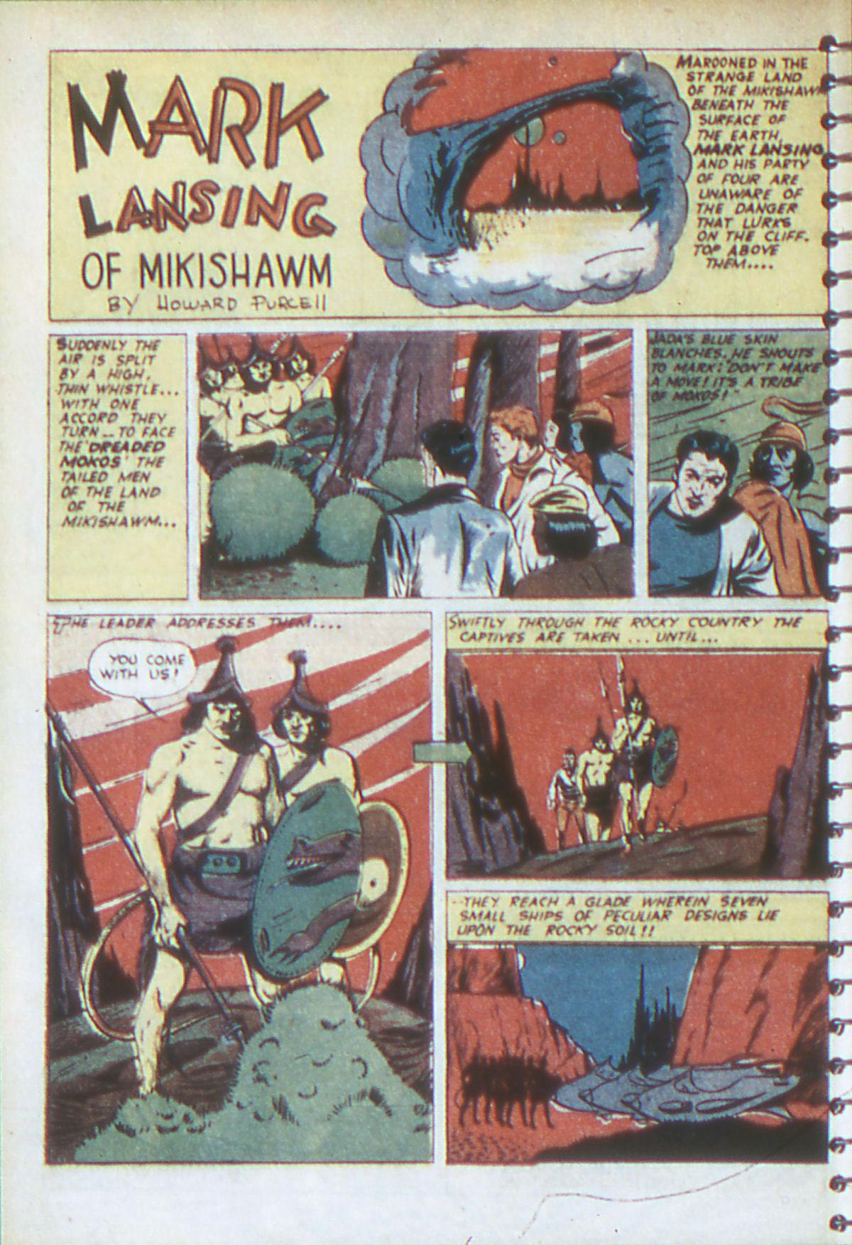 Read online Adventure Comics (1938) comic -  Issue #54 - 21