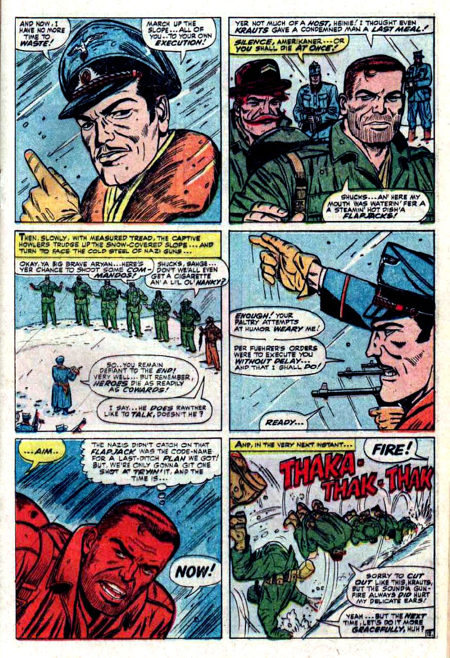 Read online Sgt. Fury comic -  Issue #32 - 17