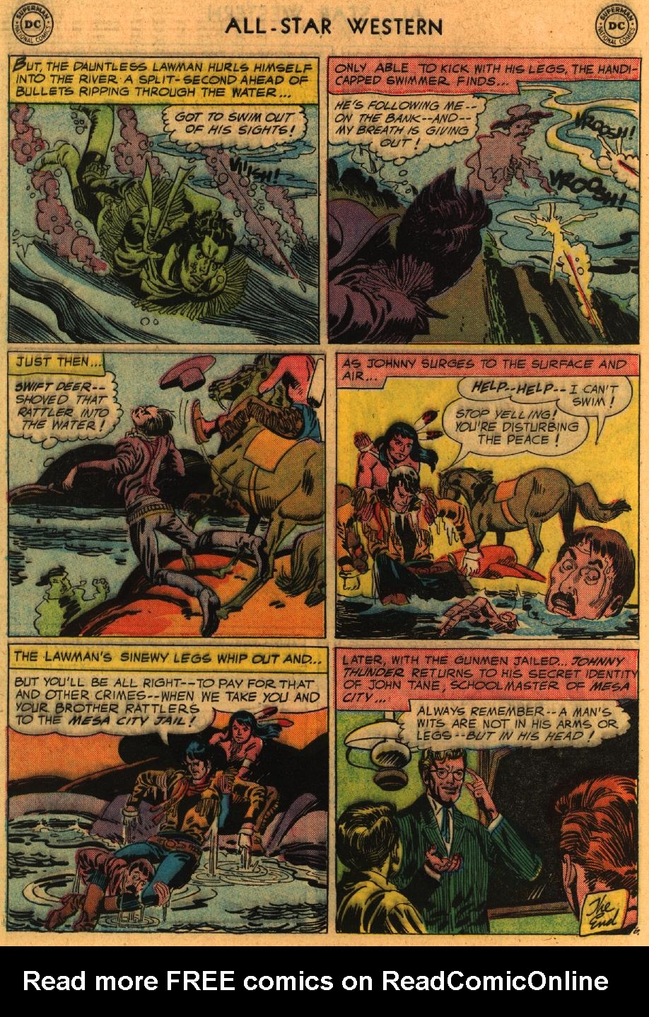 Read online All-Star Western (1951) comic -  Issue #98 - 33