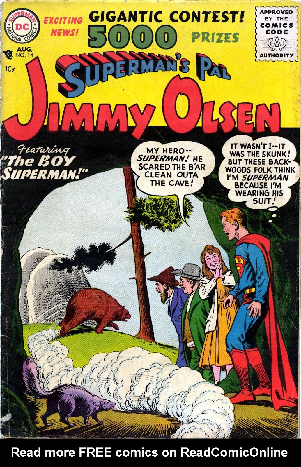 Supermans Pal Jimmy Olsen (1954) 14 Page 1