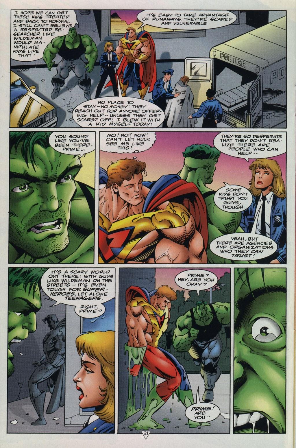 Read online Prime Vs. The Incredible Hulk comic -  Issue # Full - 25
