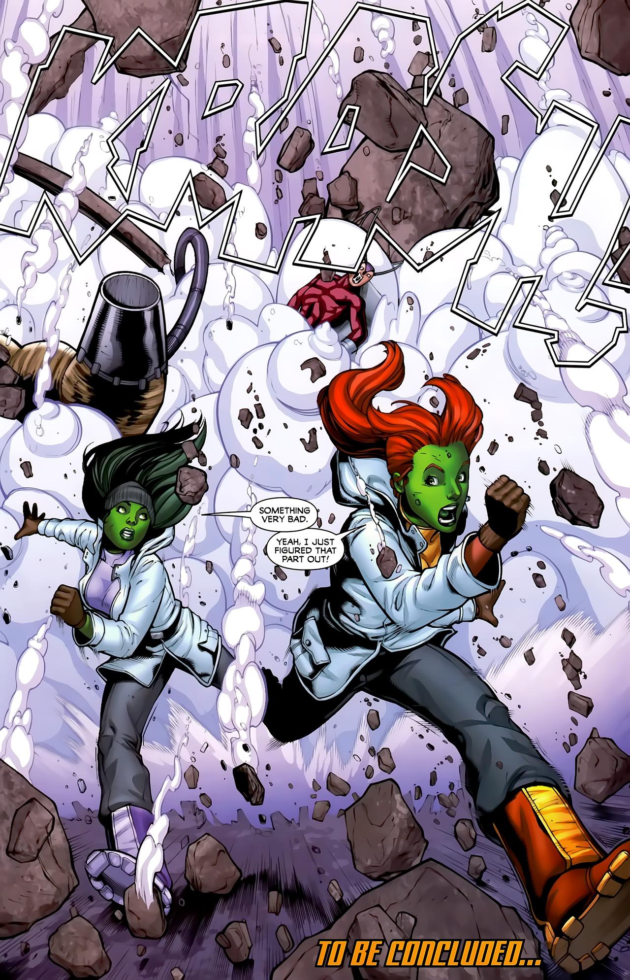 Read online She-Hulks comic -  Issue #3 - 24