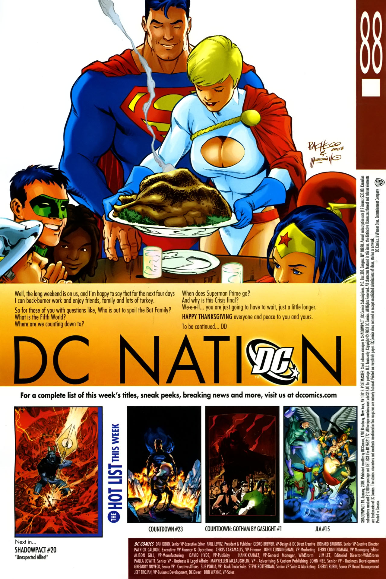 Read online Shadowpact comic -  Issue #19 - 24