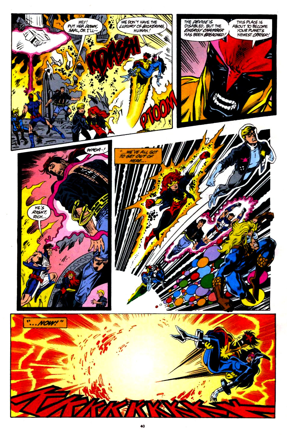 The New Warriors Issue #60 #64 - English 31
