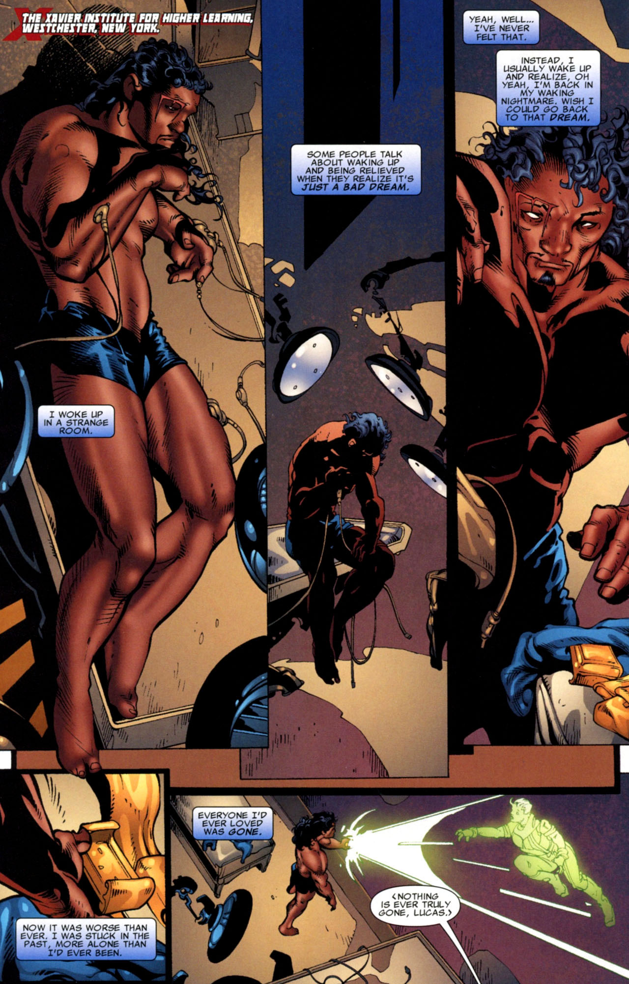 Bishop X Men Porn - X Men The Times And Life Of Lucas Bishop Issue 3   Read X Men The Times And  Life Of Lucas Bishop Issue 3 comic online in high quality. Read Full Comic