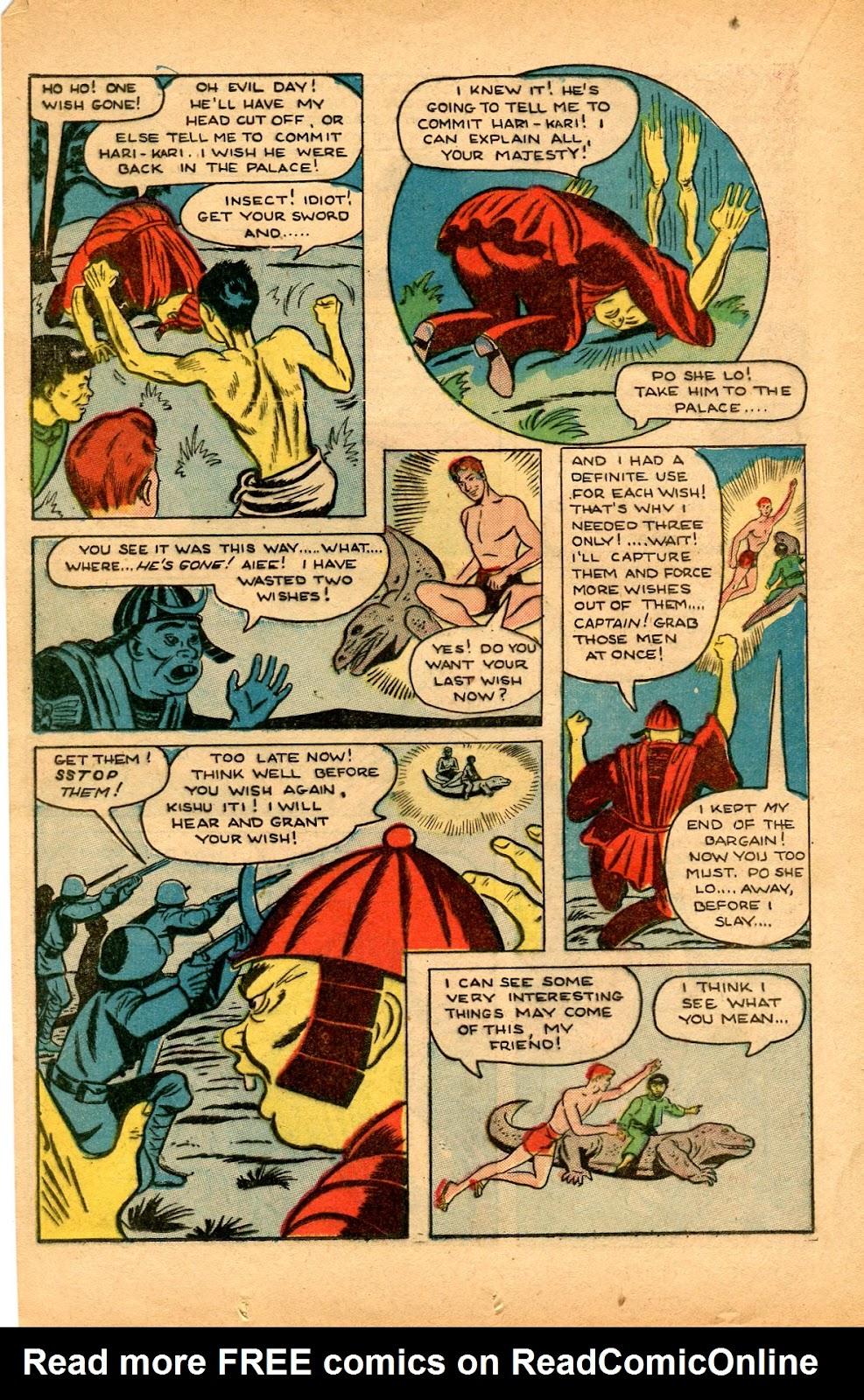 Read online Super-Magician Comics comic -  Issue #33 - 20