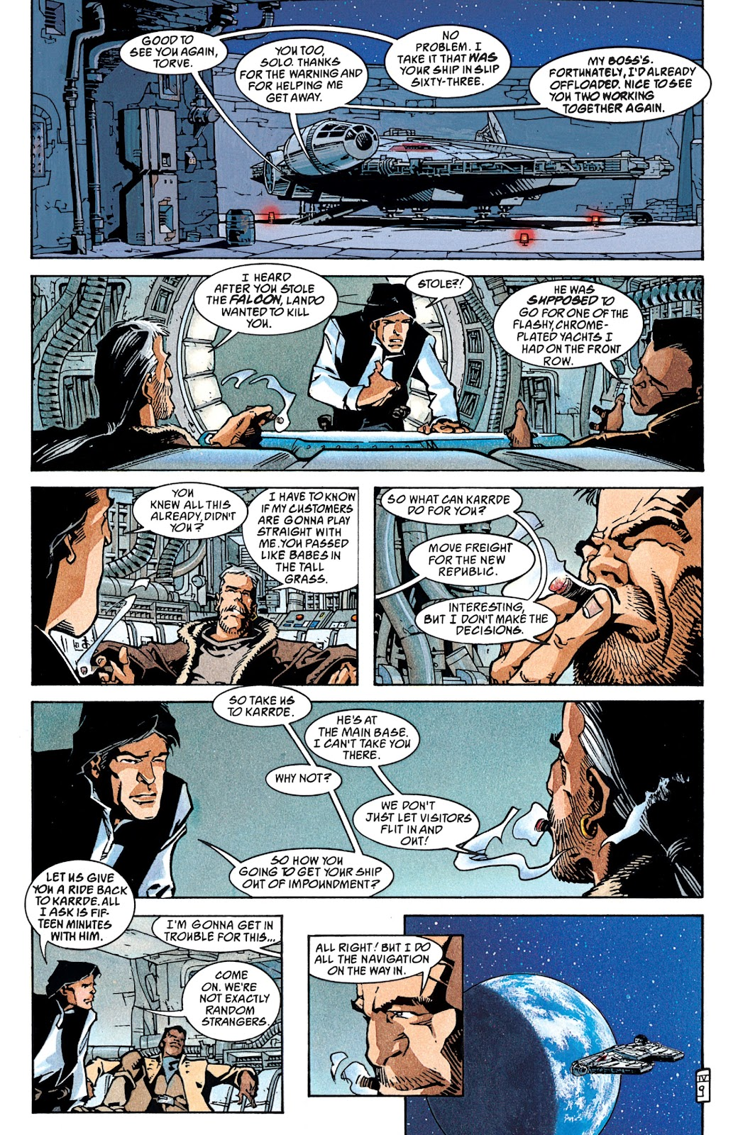 Read online Star Wars Legends: The New Republic - Epic Collection comic -  Issue # TPB 4 (Part 1) - 87