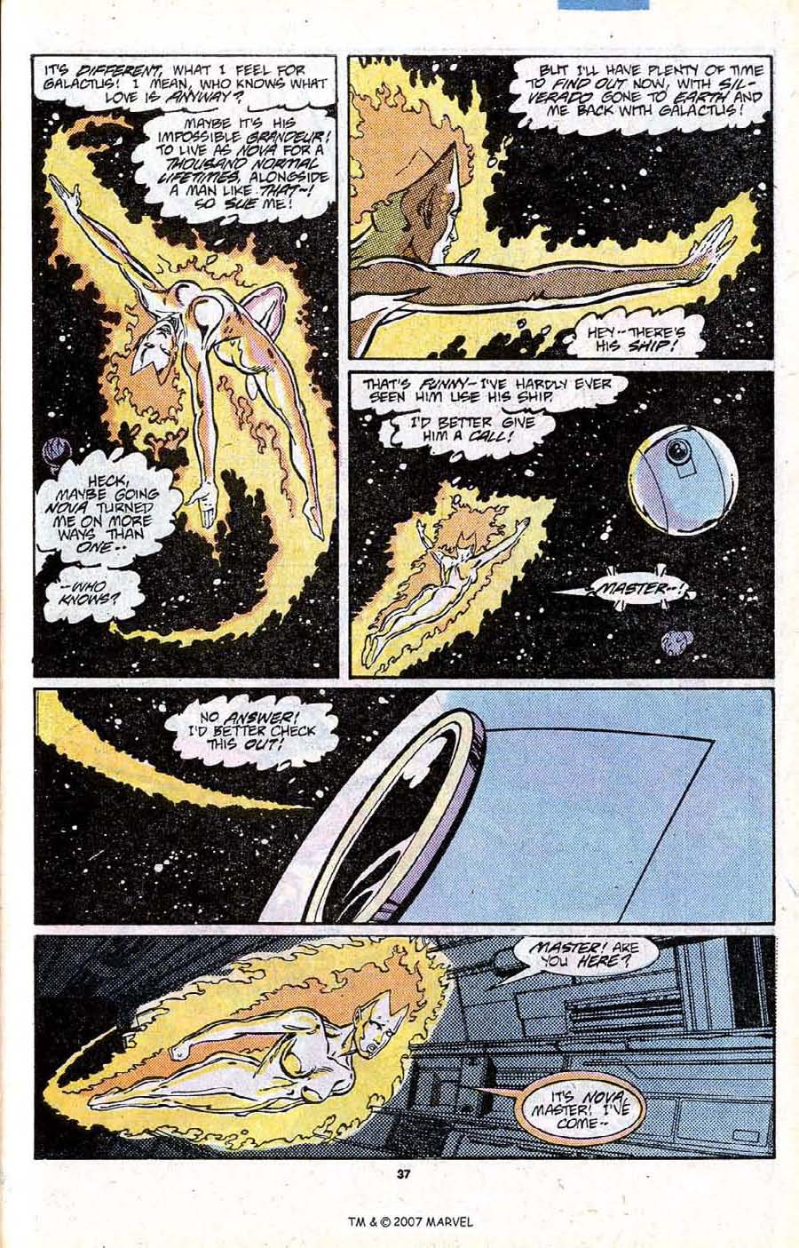 Read online Silver Surfer (1987) comic -  Issue # _Annual 1 - 39