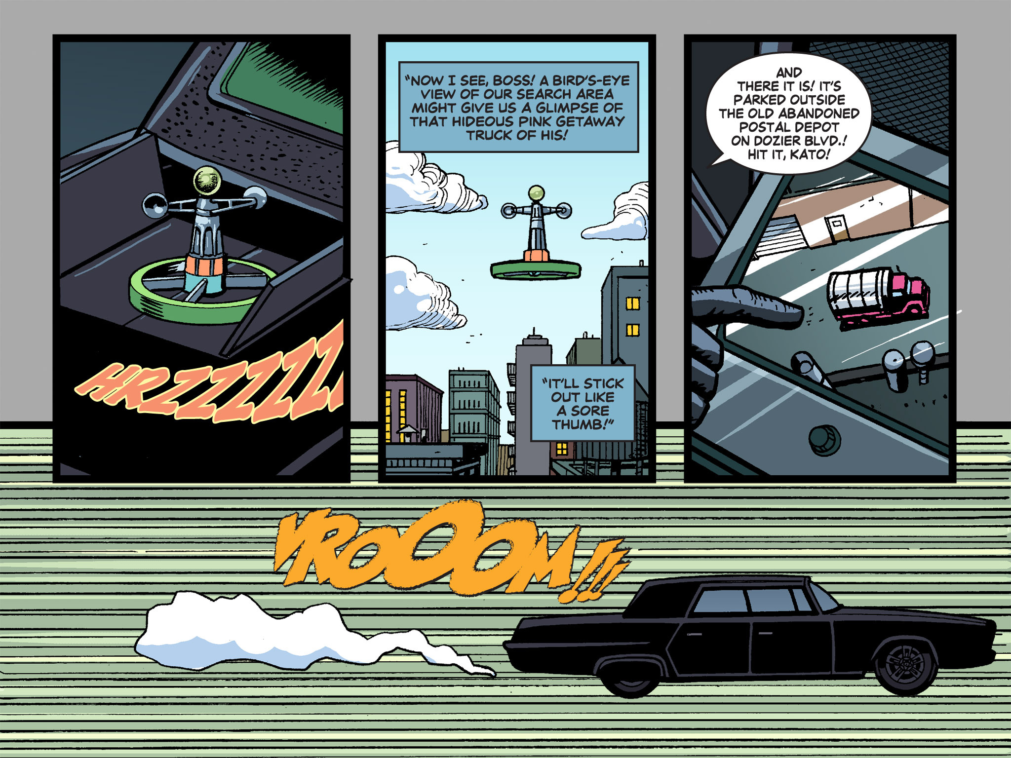 Read online Batman '66 Meets the Green Hornet [II] comic -  Issue #4 - 86