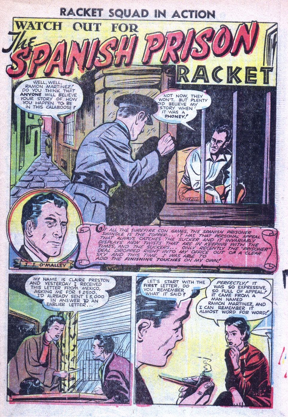 Read online Racket Squad in Action comic -  Issue #4 - 3
