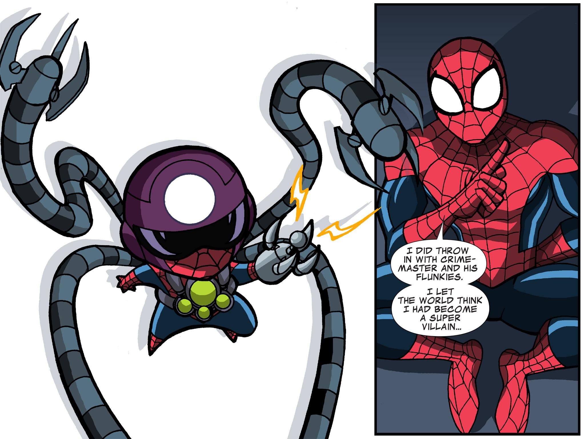 Read online Ultimate Spider-Man (Infinite Comics) (2015) comic -  Issue #19 - 12