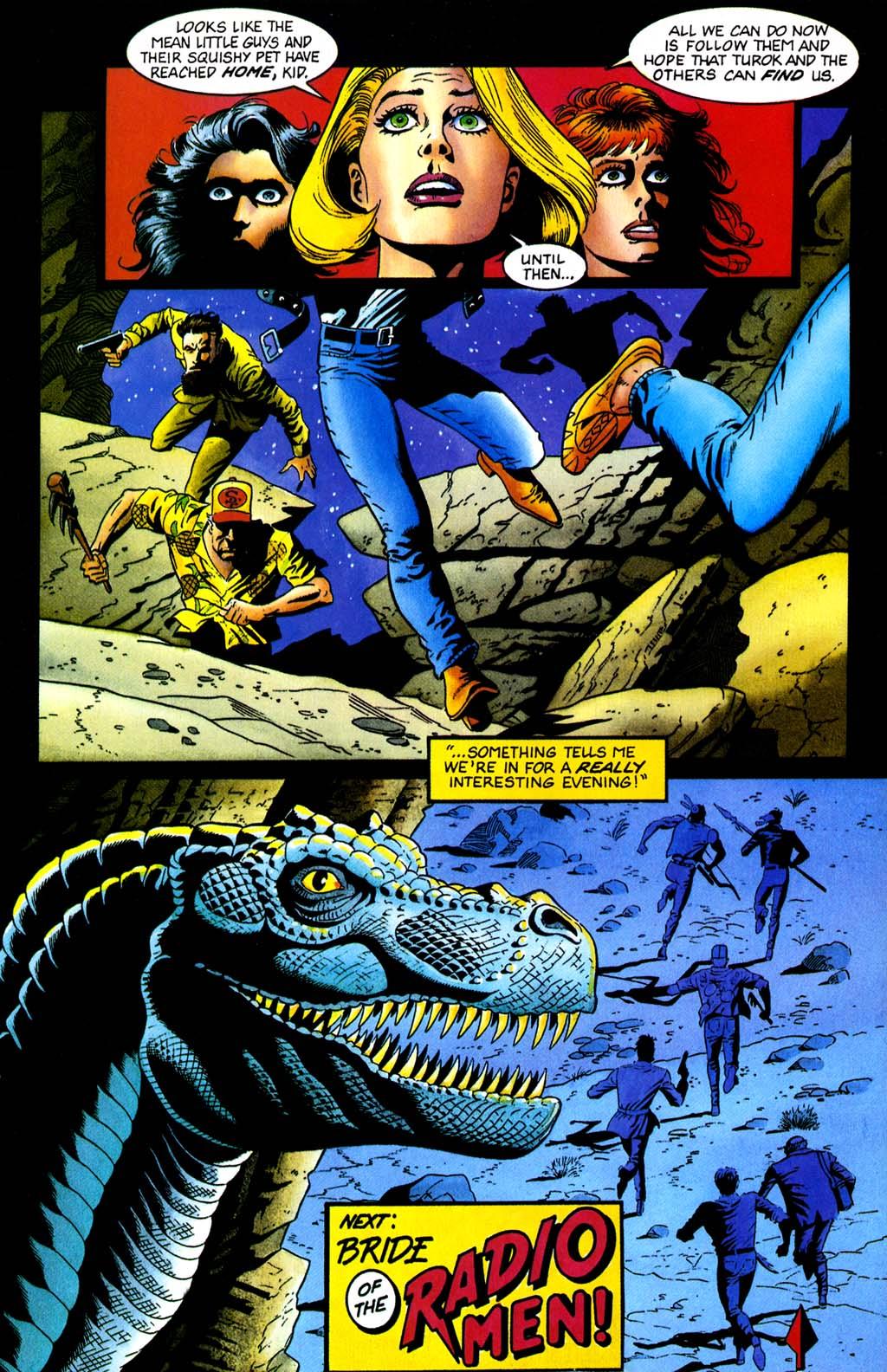 Read online Turok, Dinosaur Hunter (1993) comic -  Issue #32 - 20