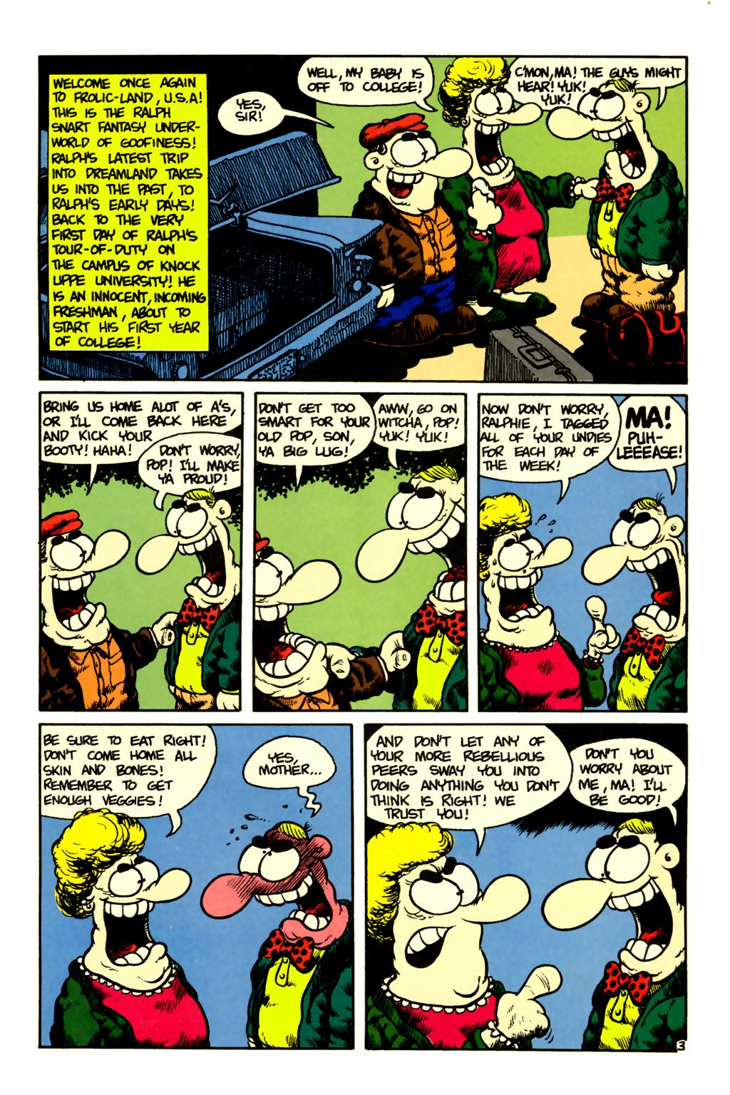 Ralph Snart Adventures (1988) issue 6 - Page 4