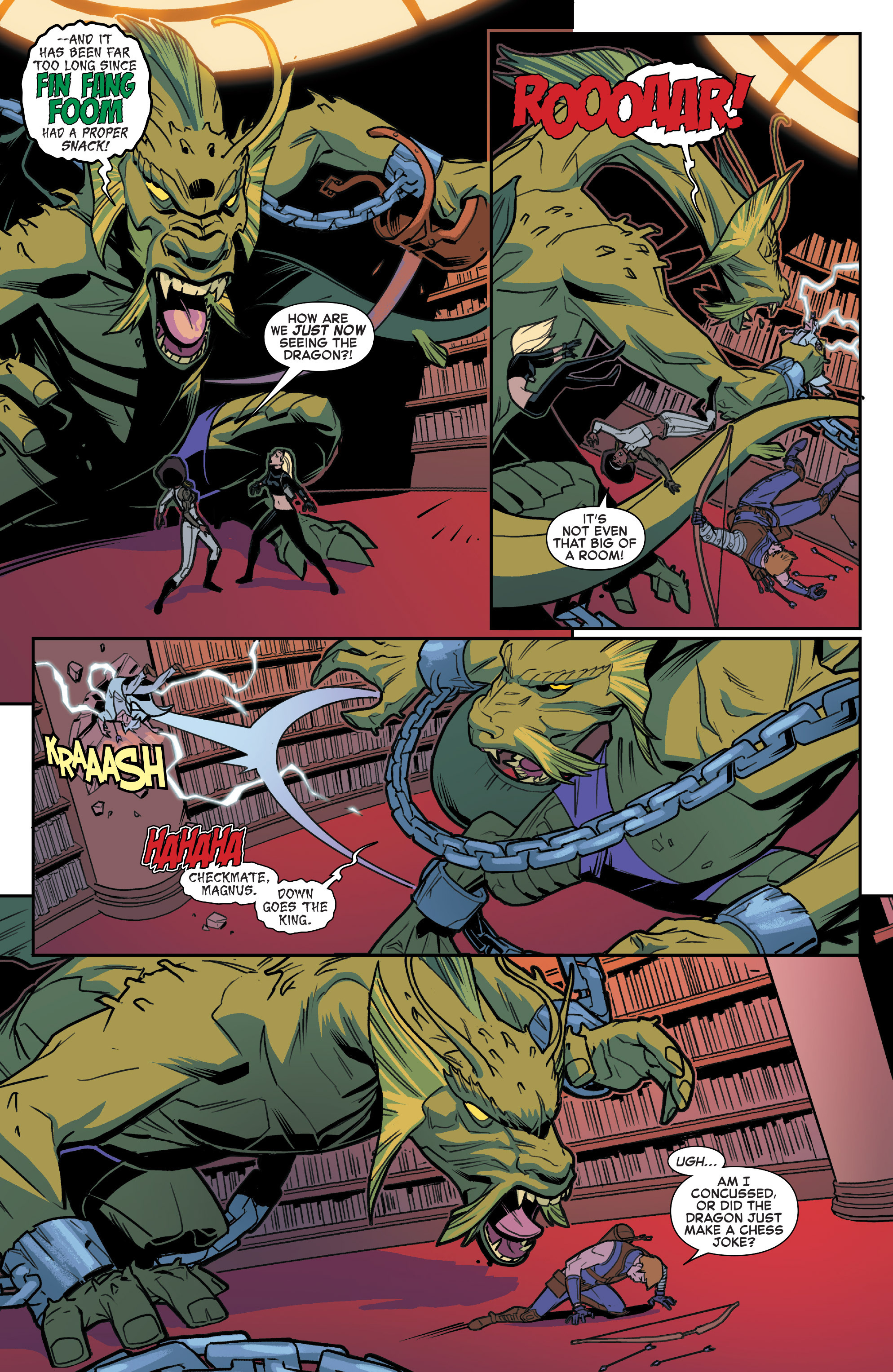 Read online House of M (2015) comic -  Issue #2 - 18