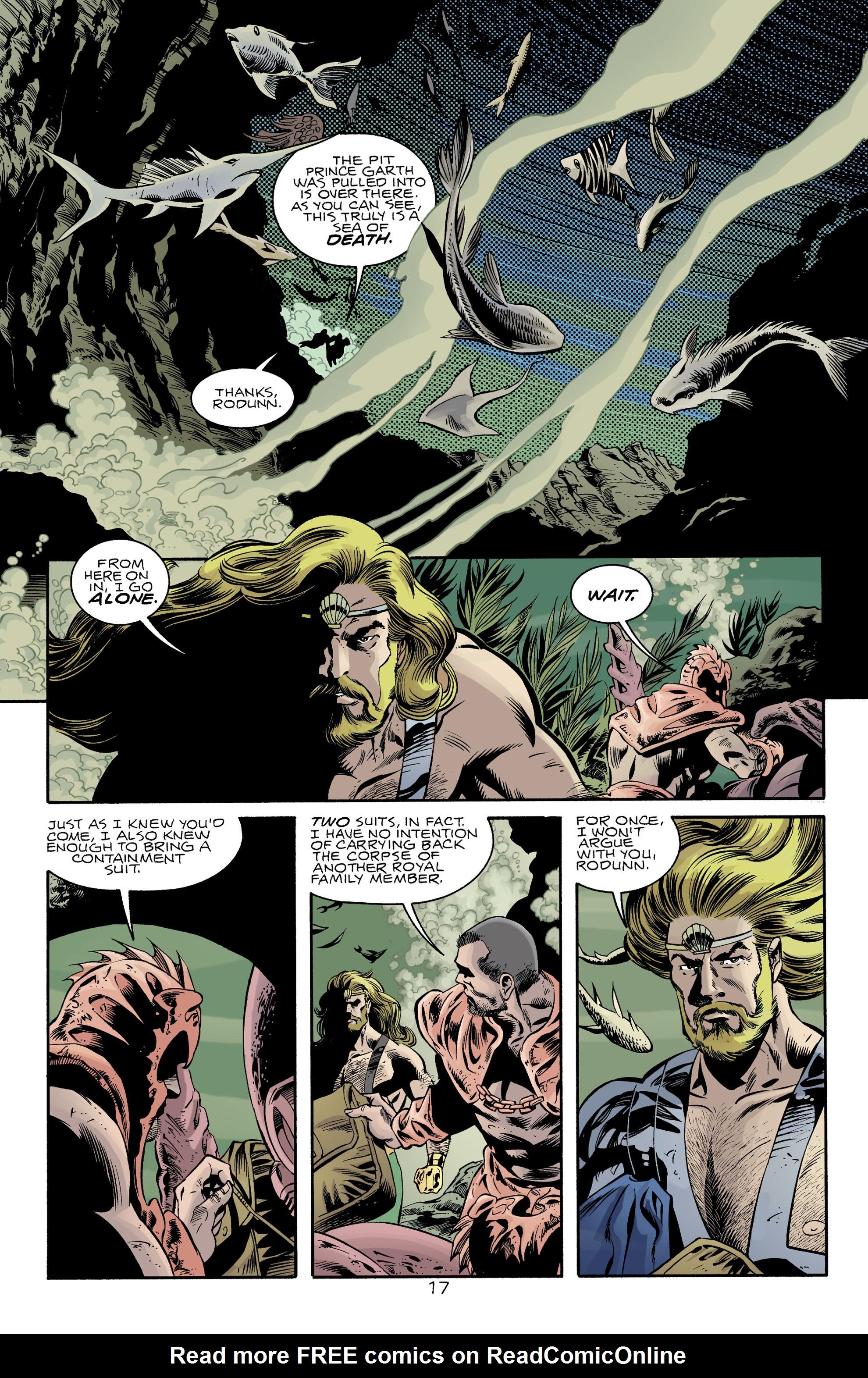 Read online Aquaman (1994) comic -  Issue #74 - 17