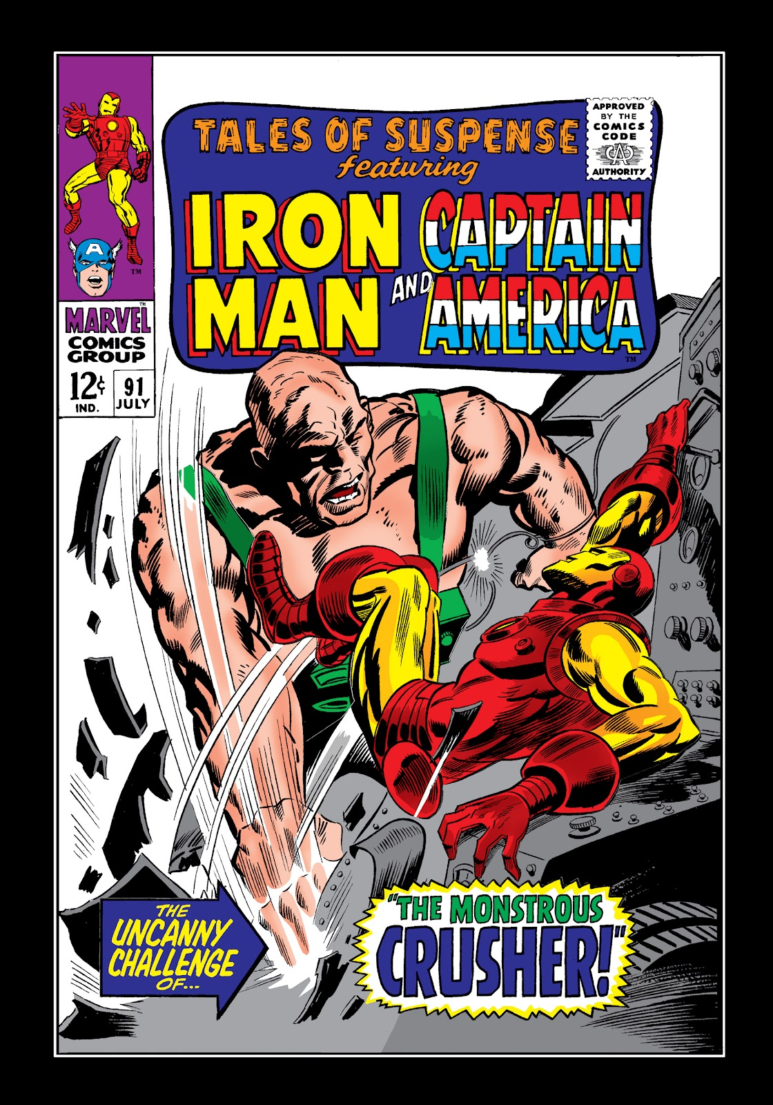 Read online Marvel Masterworks: The Invincible Iron Man comic -  Issue # TPB 4 (Part 1) - 97