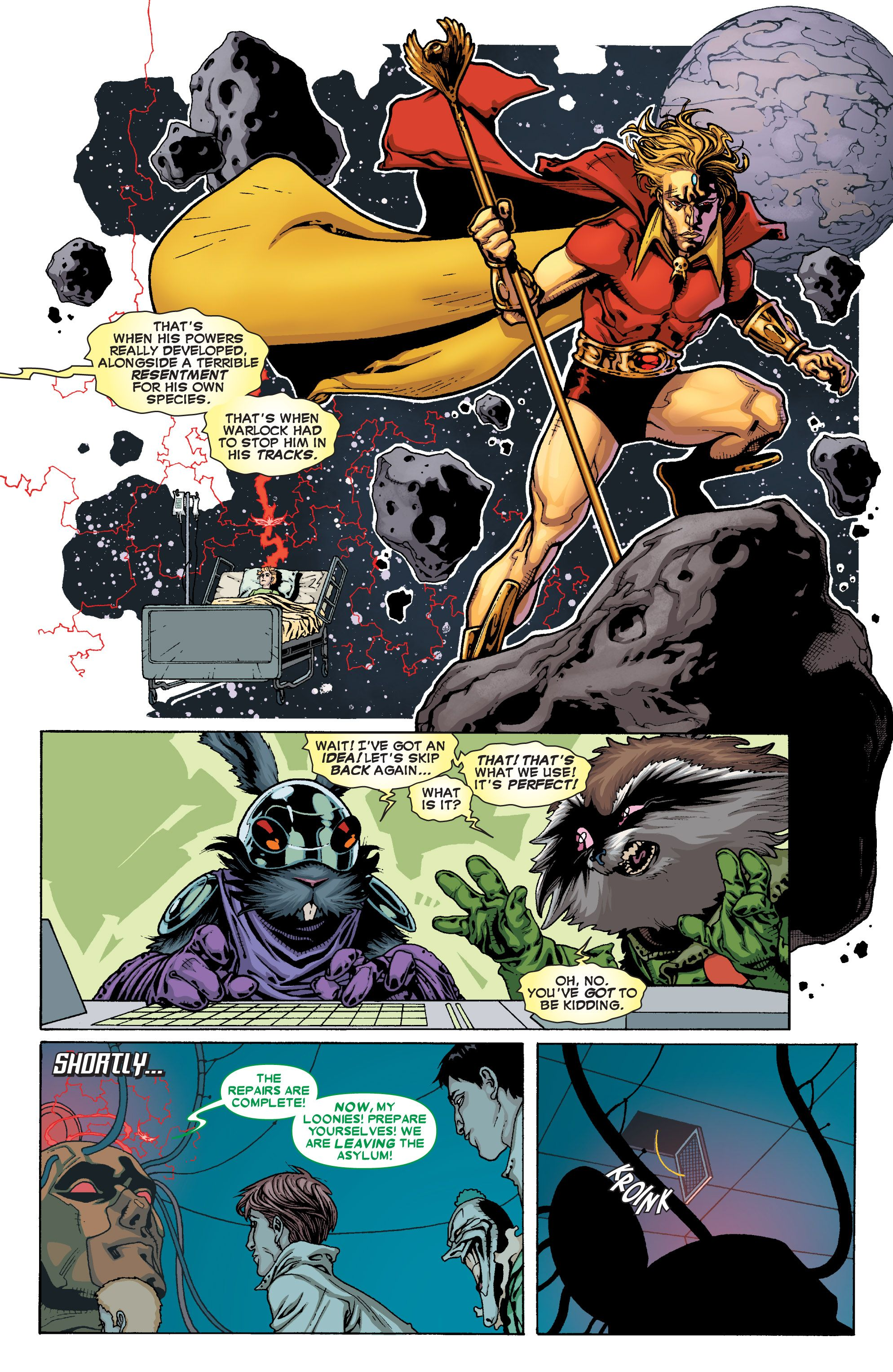 Read online Annihilators comic -  Issue #4 - 34