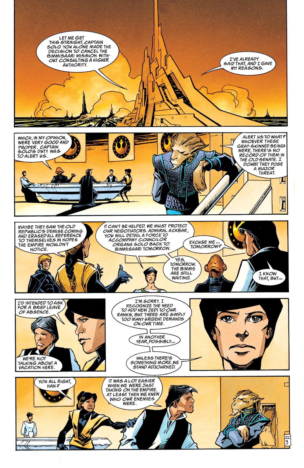 Read online Star Wars Legends: The New Republic - Epic Collection comic -  Issue # TPB 4 (Part 1) - 40