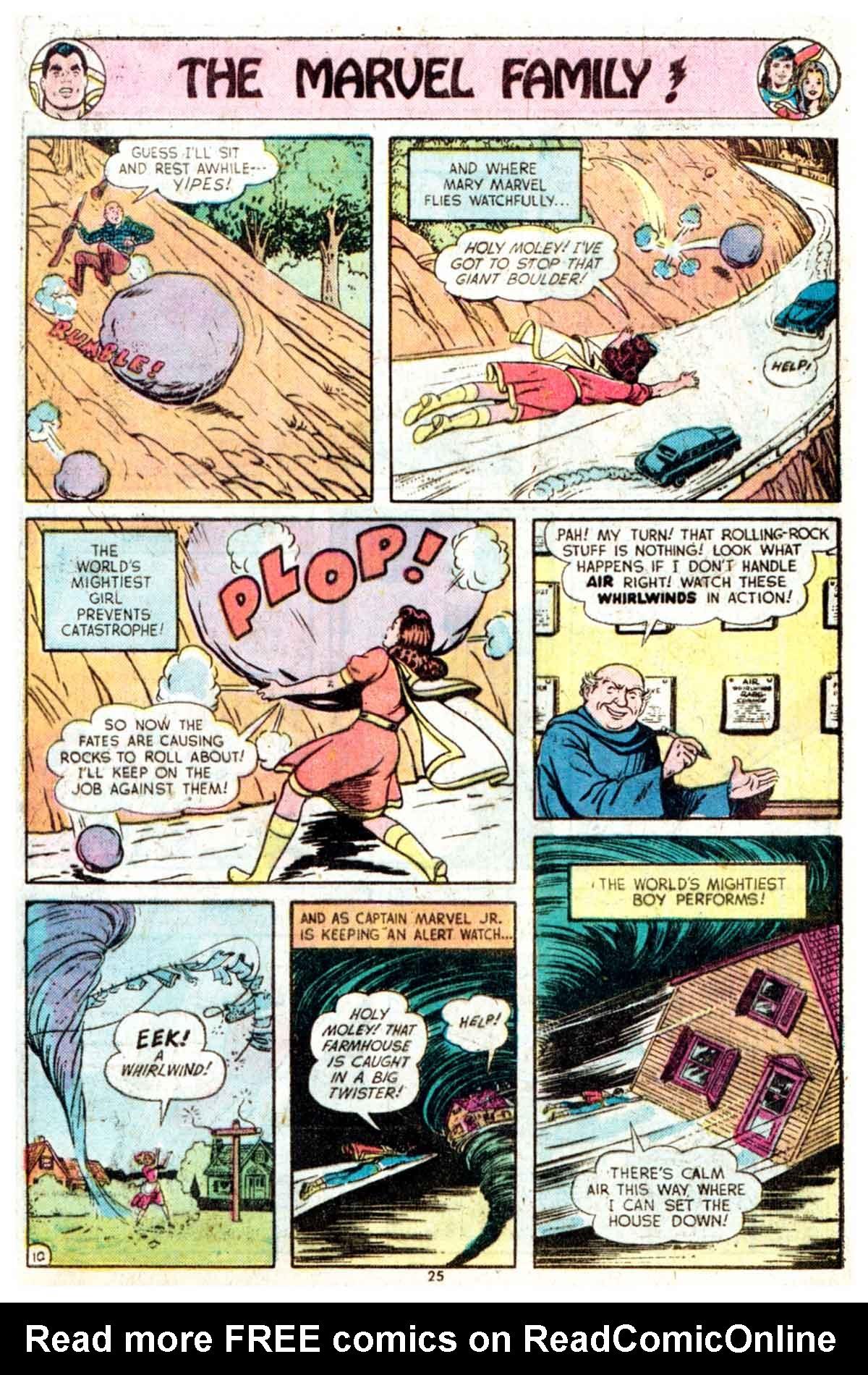 Read online Shazam! (1973) comic -  Issue #16 - 25