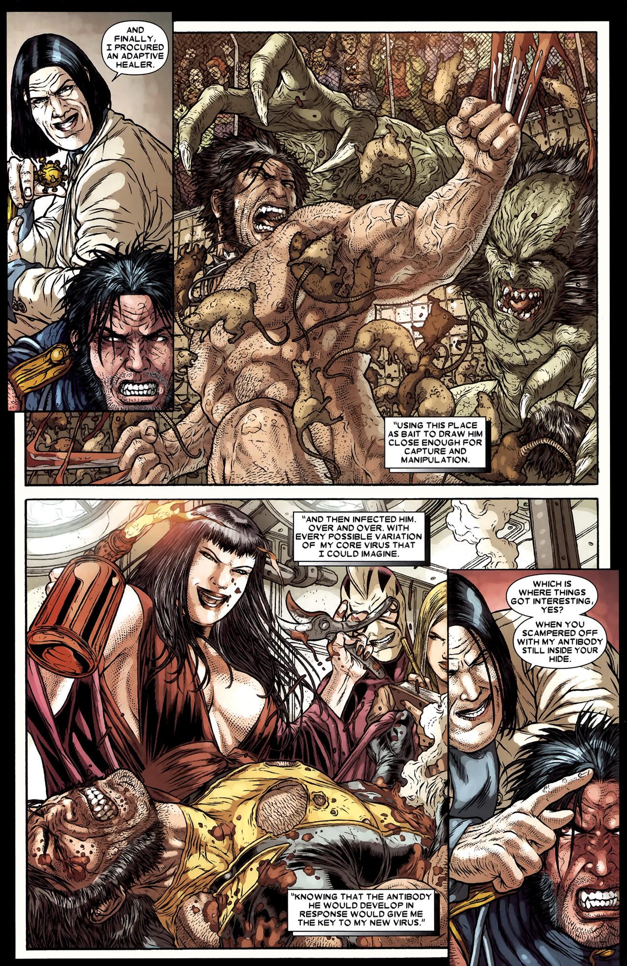 Read online Wolverine: The Best There Is comic -  Issue #11 - 18