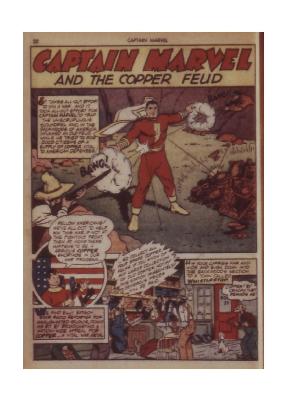 Captain Marvel Adventures issue 11 - Page 20