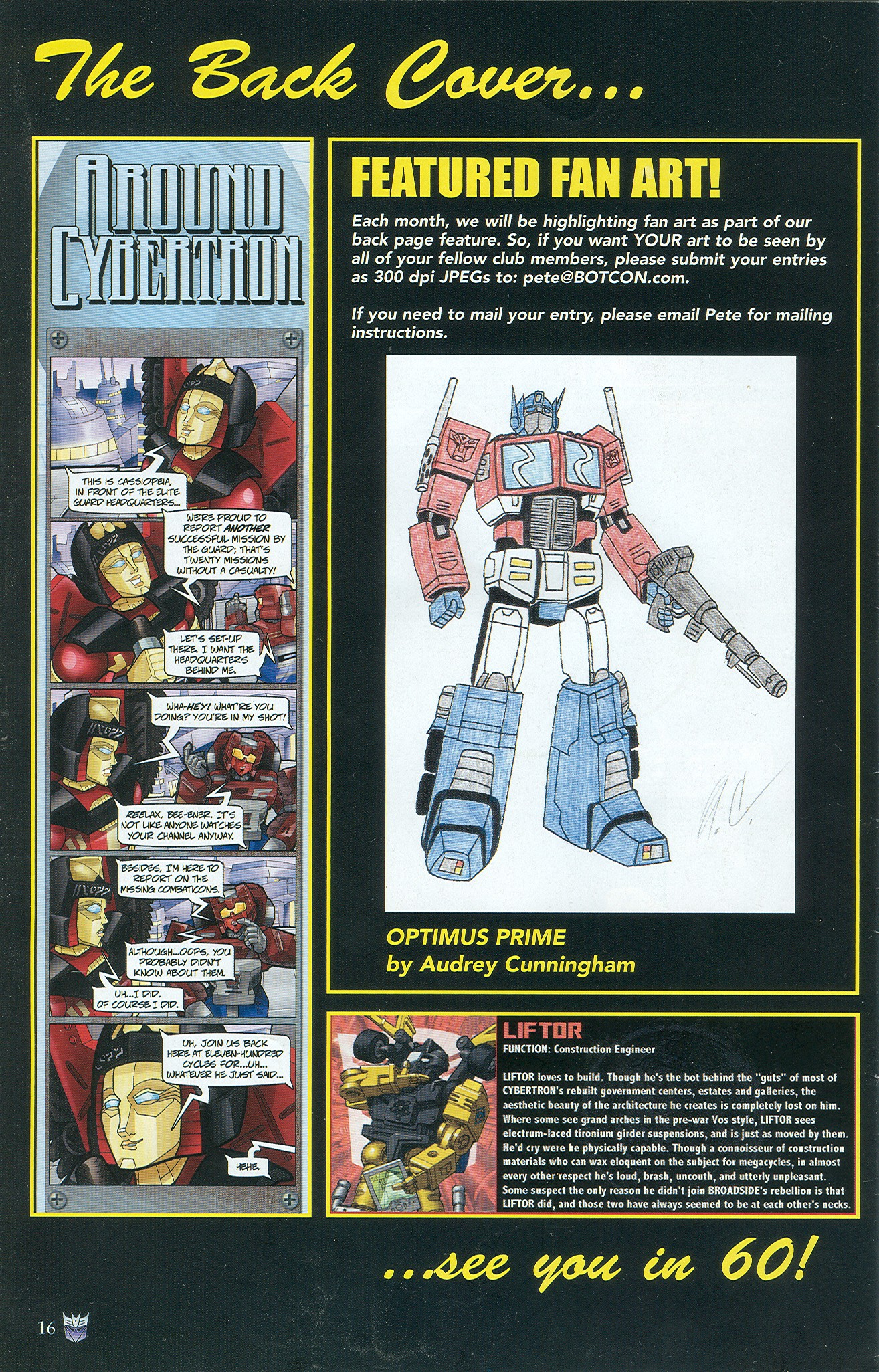 Read online Transformers: Collectors' Club comic -  Issue #33 - 16