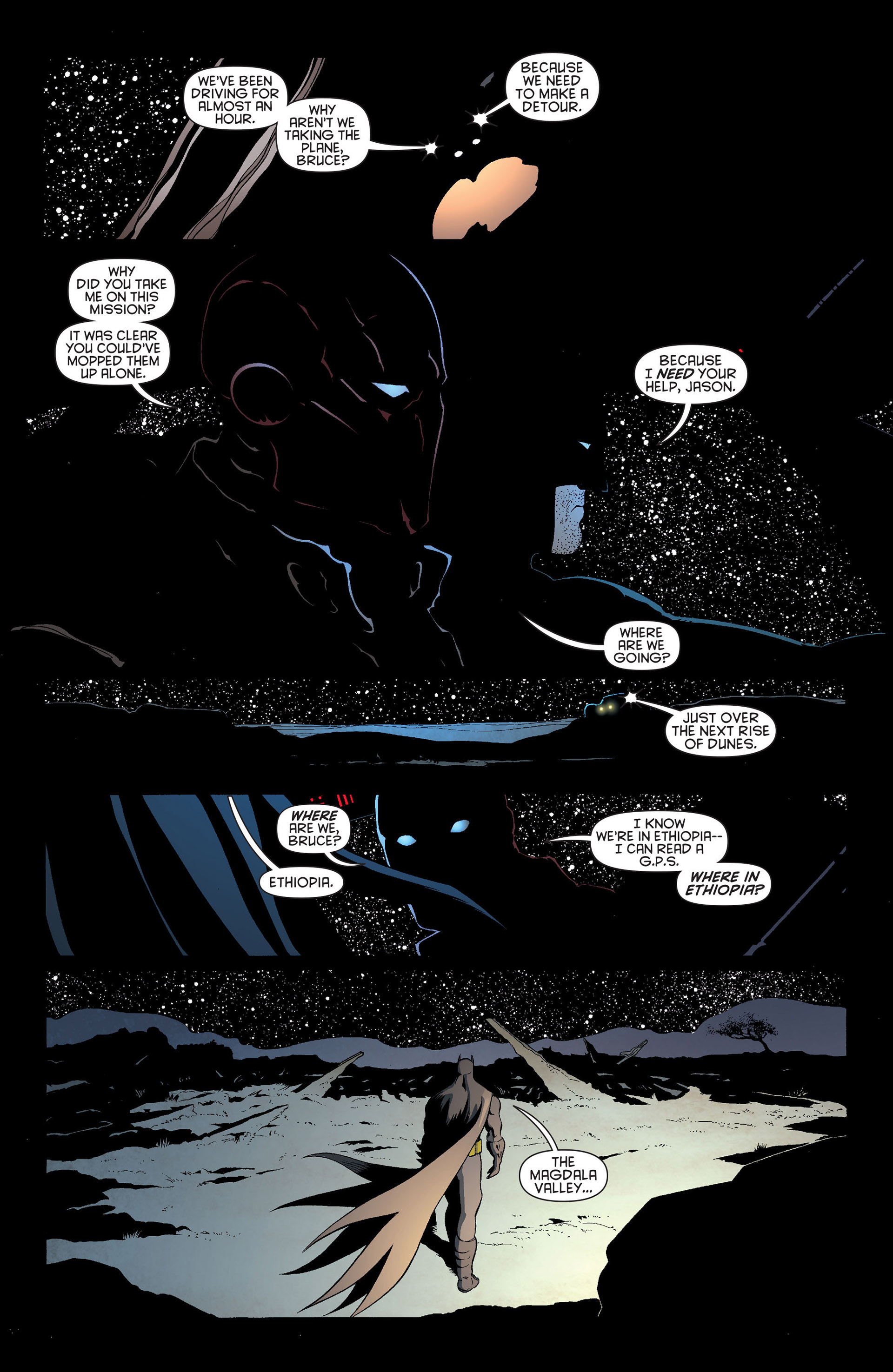 Read online Batman and Robin (2011) comic -  Issue #20 - 16