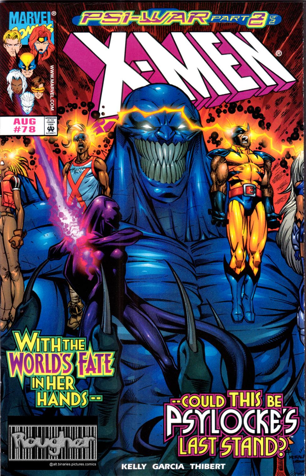 X-Men (1991) 78 Page 0