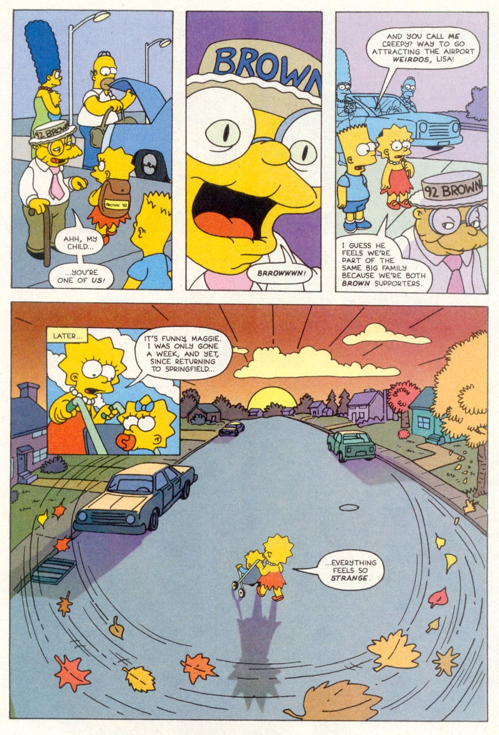 Read online Treehouse of Horror comic -  Issue #1 - 35
