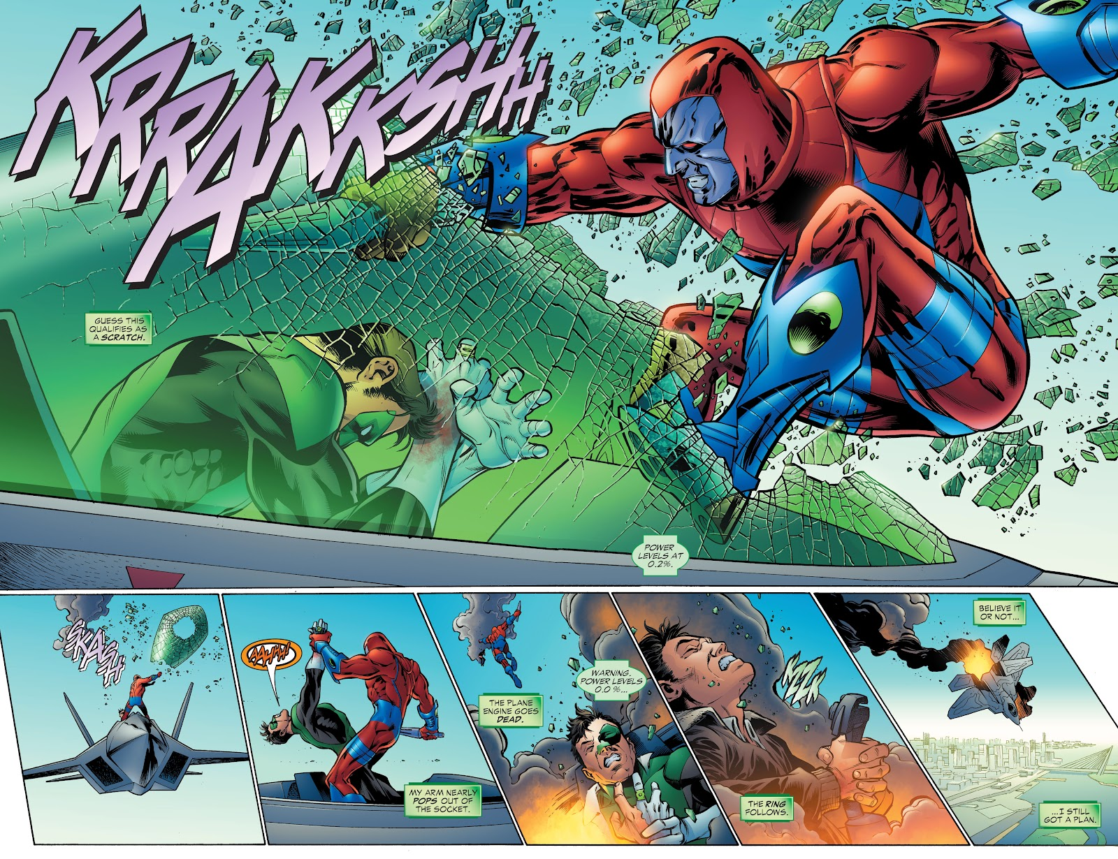 Read online Green Lantern by Geoff Johns comic -  Issue # TPB 1 (Part 4) - 57