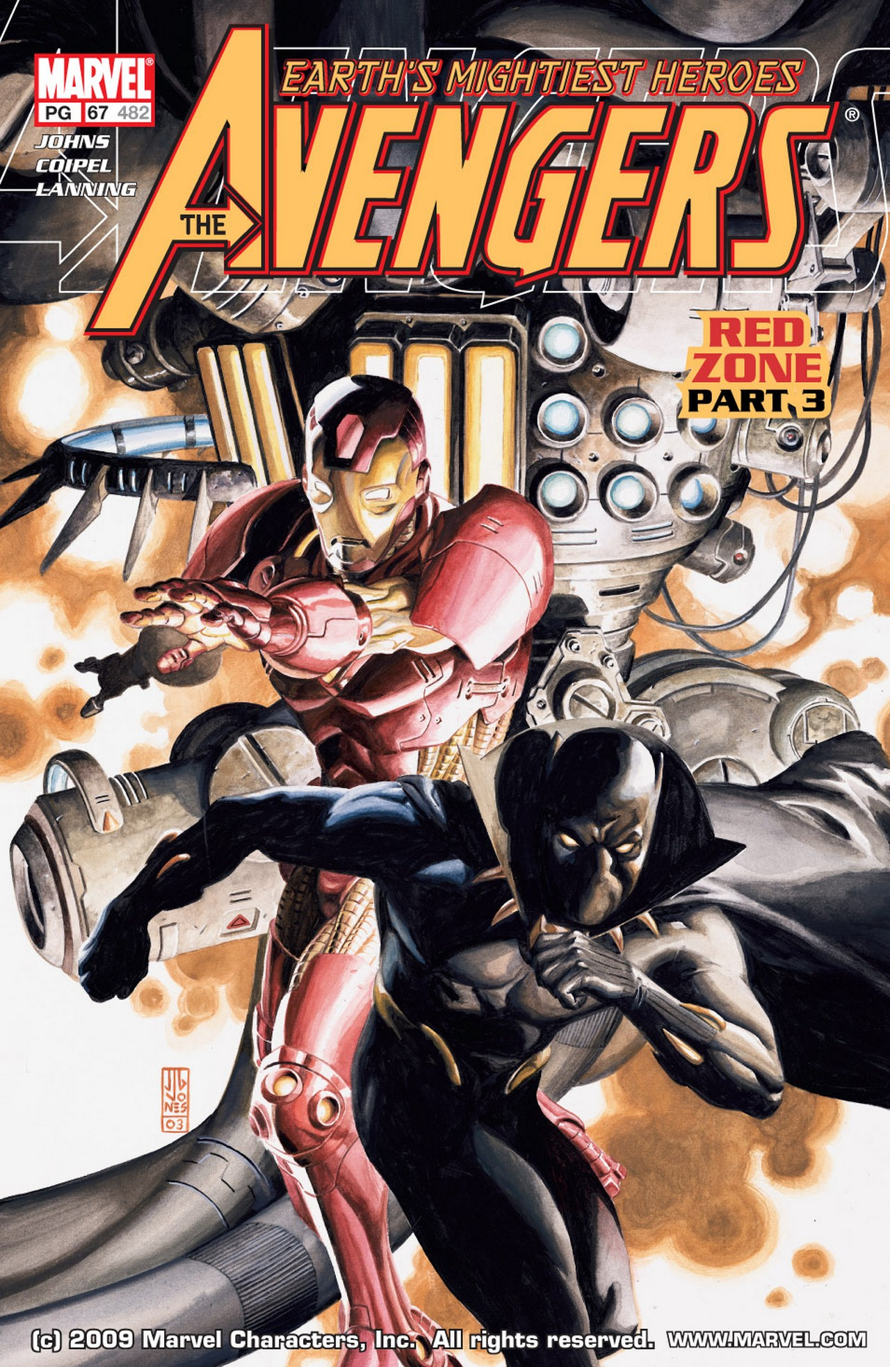 Read online Avengers (1998) comic -  Issue #67 - 1
