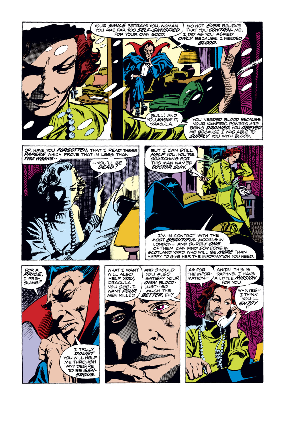 Tomb of Dracula (1972) issue 35 - Page 3