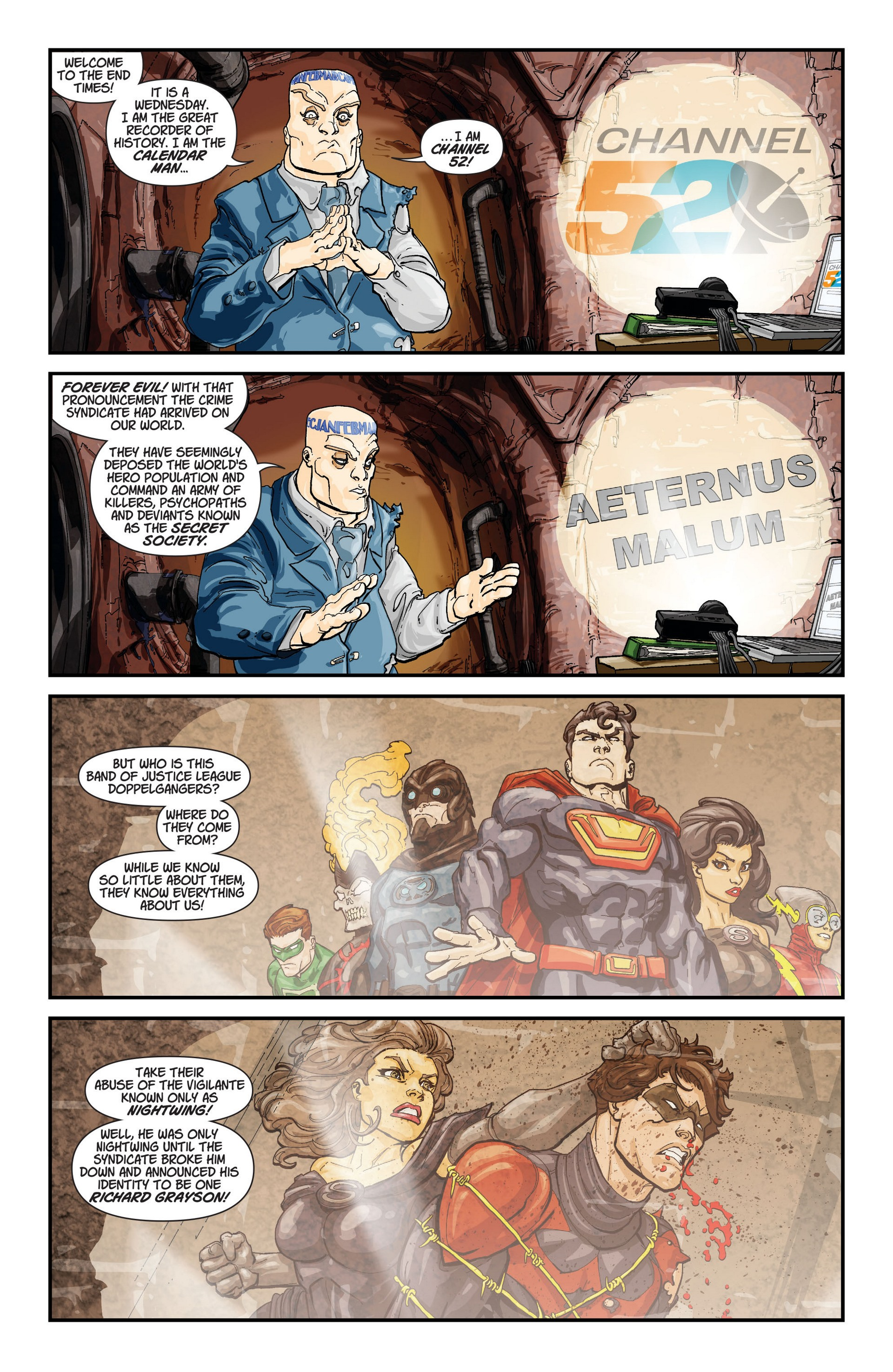 Read online Trinity of Sin: The Phantom Stranger comic -  Issue #12 - 22